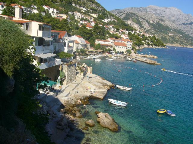 5257  - Pisak - Ferienwohnungen Kroatien - Aussicht (Objekt und Umgebung)