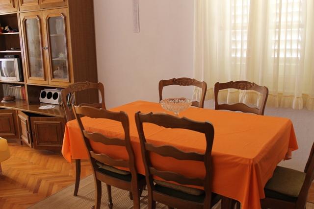 5257  - Pisak - Ferienwohnungen Kroatien - A1 KAT (2+2) : Speisezimmer