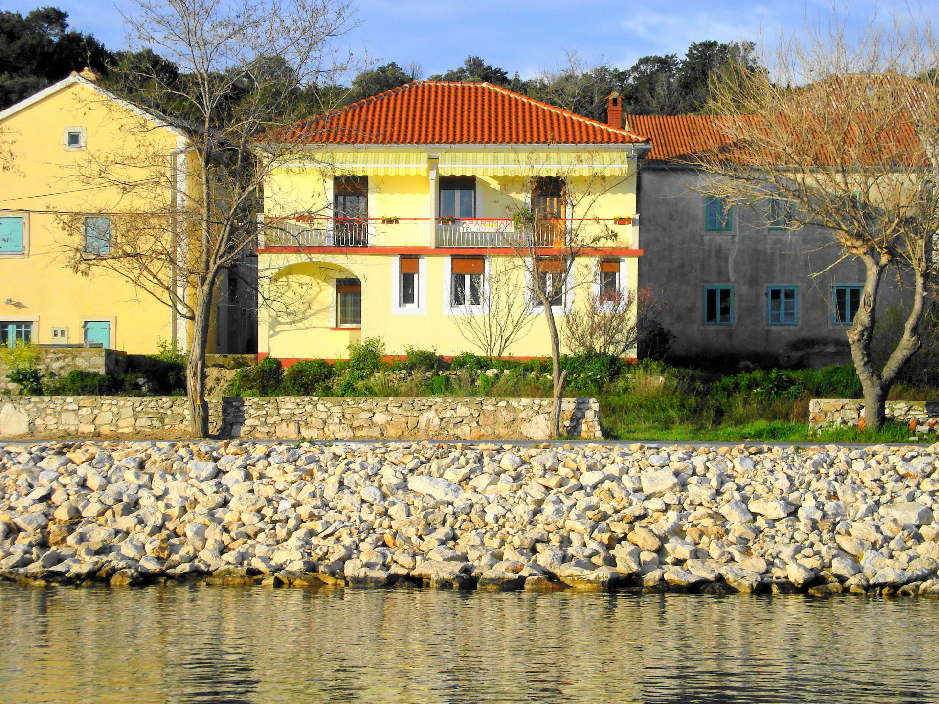 6089 - Veli Rat - Appartementen Kroatië