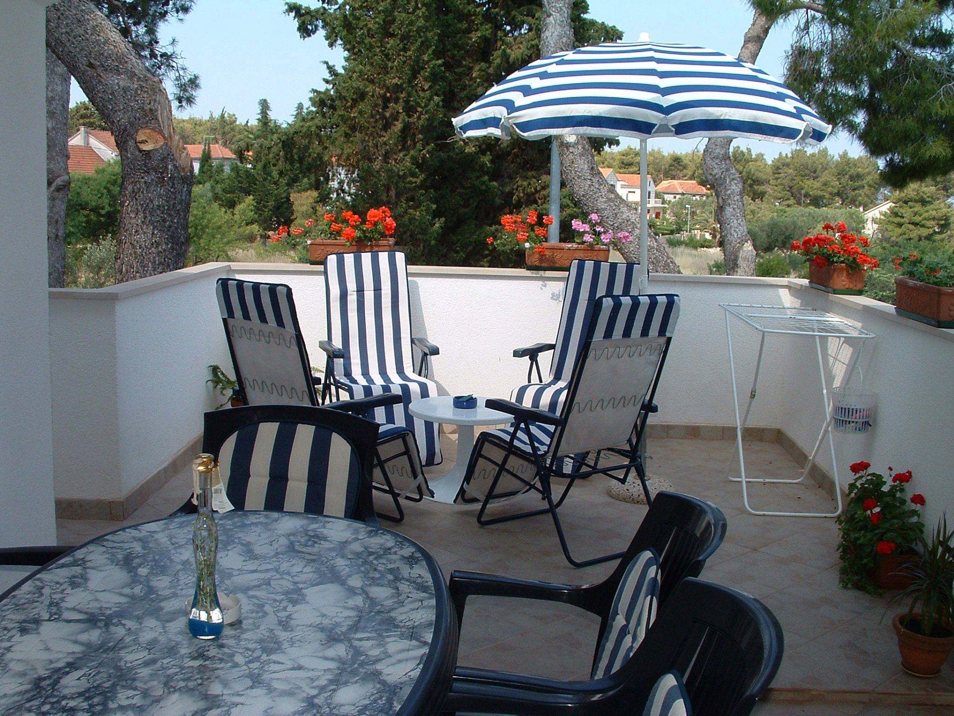 01301MIRC  - Mirca - Appartamenti Croazia - A2(4+1): la terrazza
