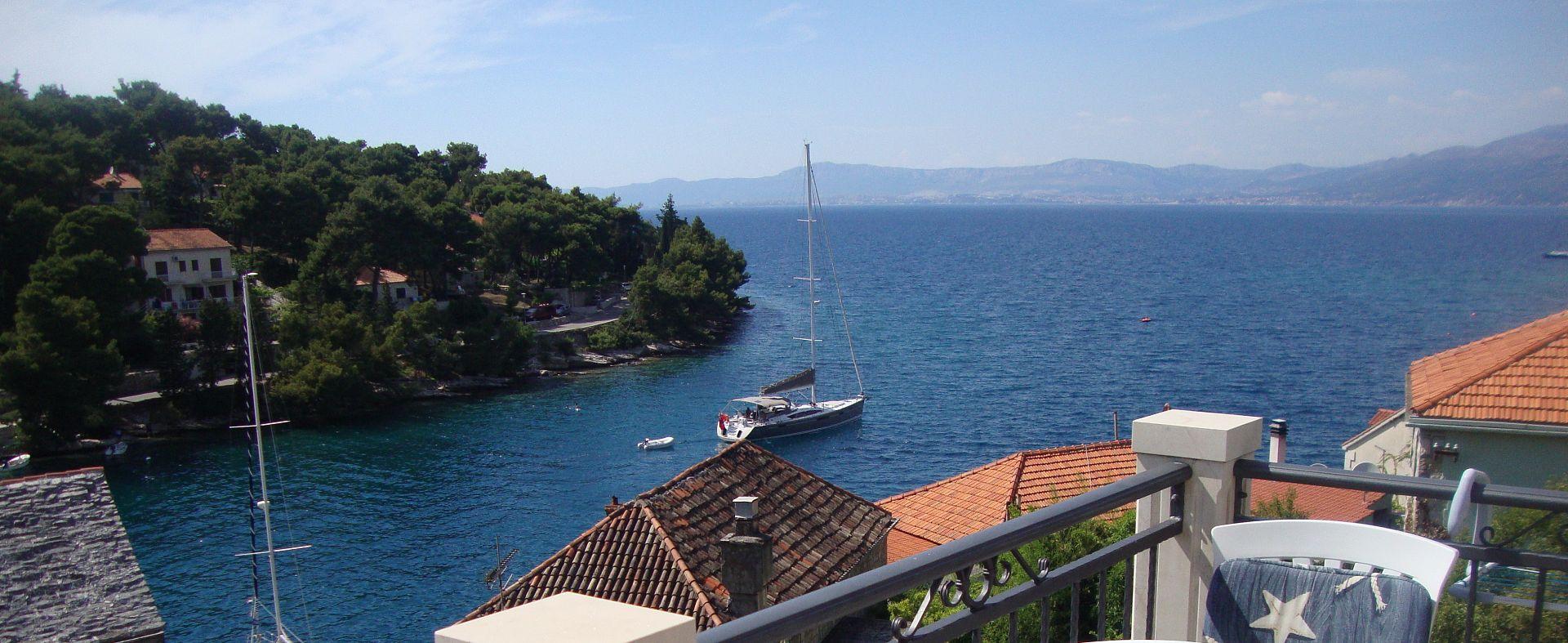 Marin - Splitska - Apartmanok Horvátország