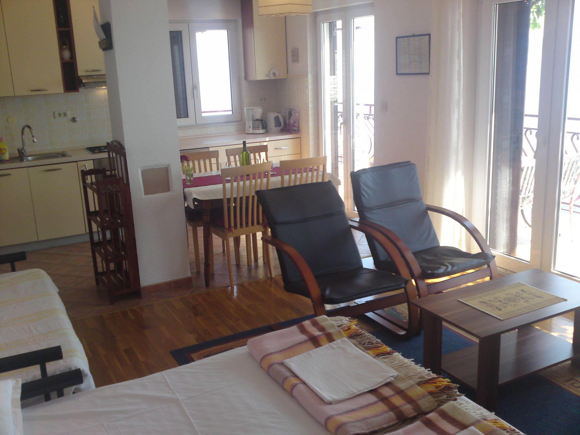00209PISA  - Pisak - Ferienwohnungen Kroatien - A5 (2+2): Innenausstattung