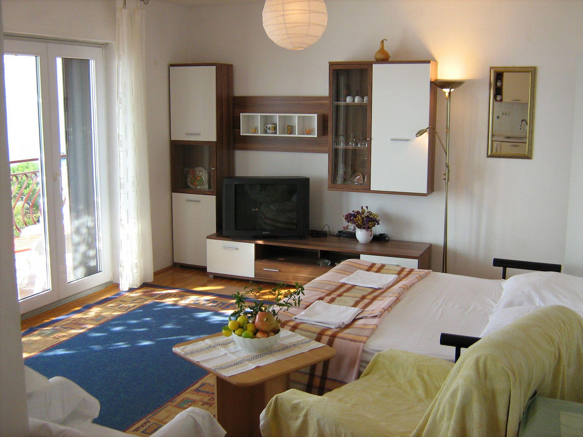 00209PISA  - Pisak - Ferienwohnungen Kroatien - A5 (2+2): Tagesaufenthaltsraum