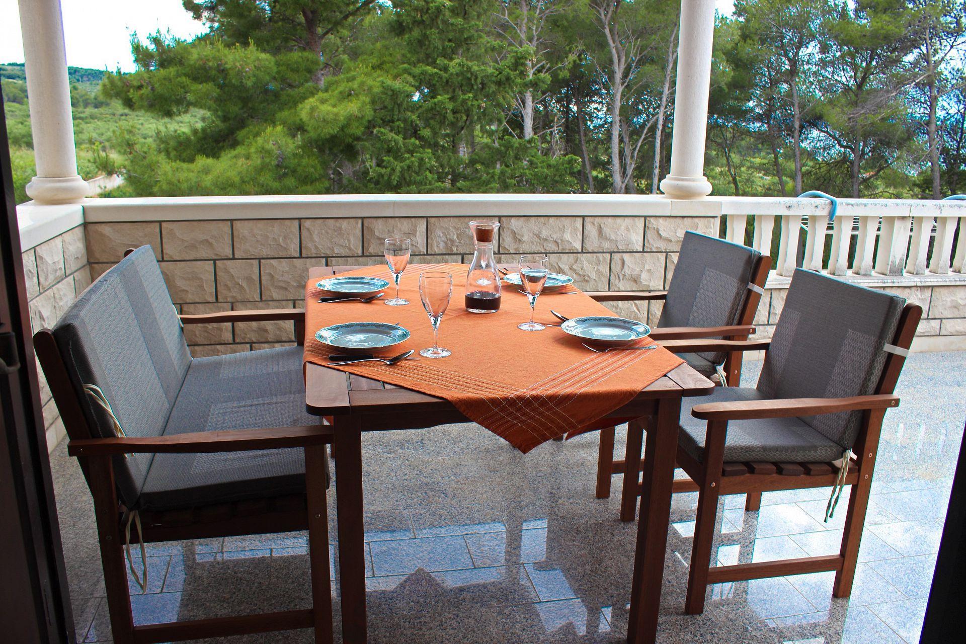 35506 - Mirca - Appartamenti Croazia - A(4+1): la terrazza