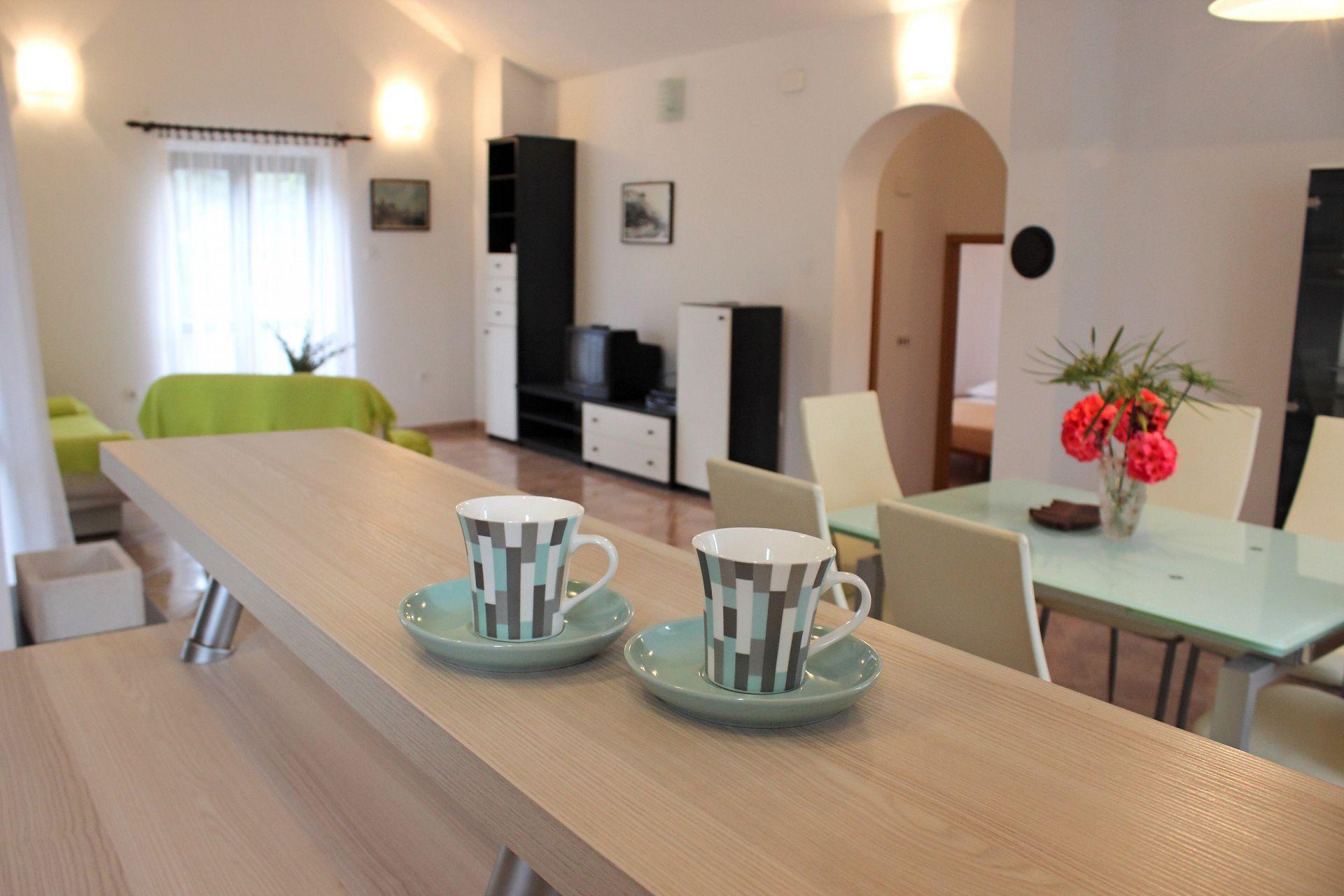 35506 - Mirca - Appartamenti Croazia - A(4+1): il dettaglio