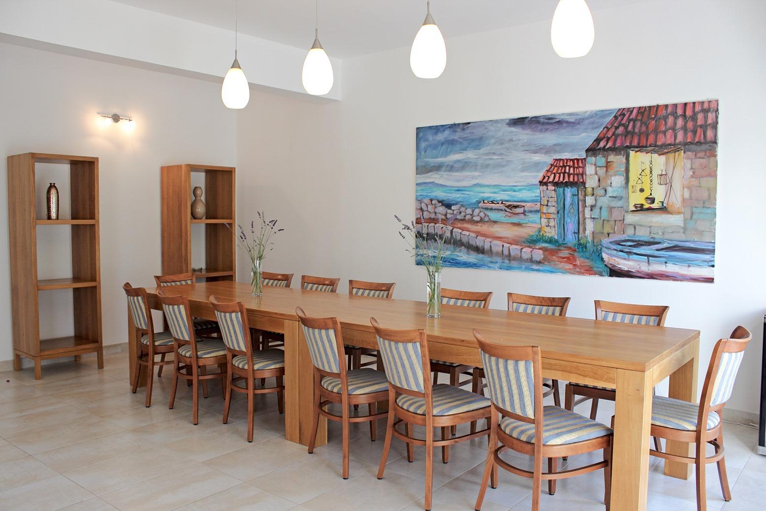 6018 - Mirca - Hiše za počitek, vile Hrvaška - H(14+2): jedilnica
