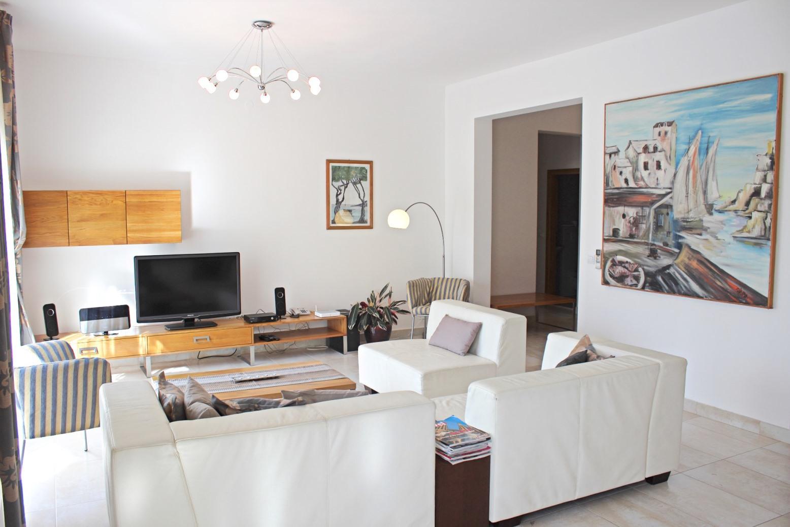 6018 - Mirca - Hiše za počitek, vile Hrvaška - H(14+2): dnevna soba