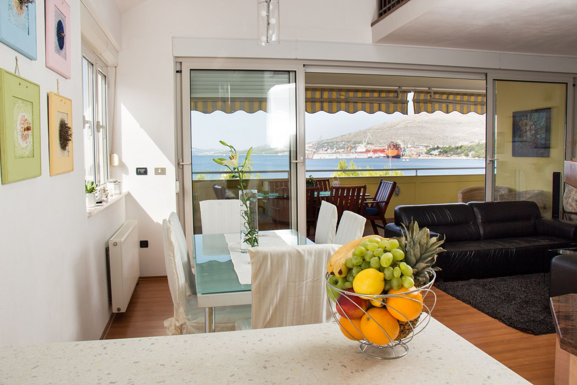 01707TROG  - Trogir - Appartements Croatie - A3(6+1): séjour