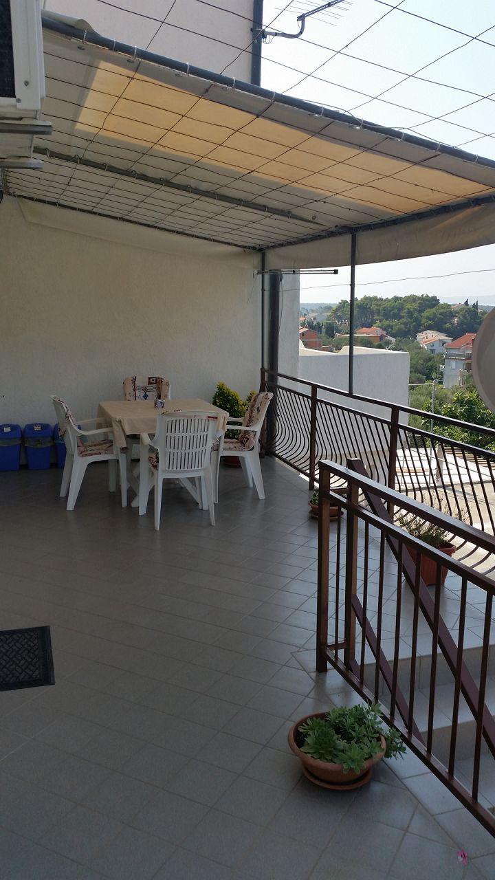 Per - Banjol - Appartementen Kroatië - A1(4): terras