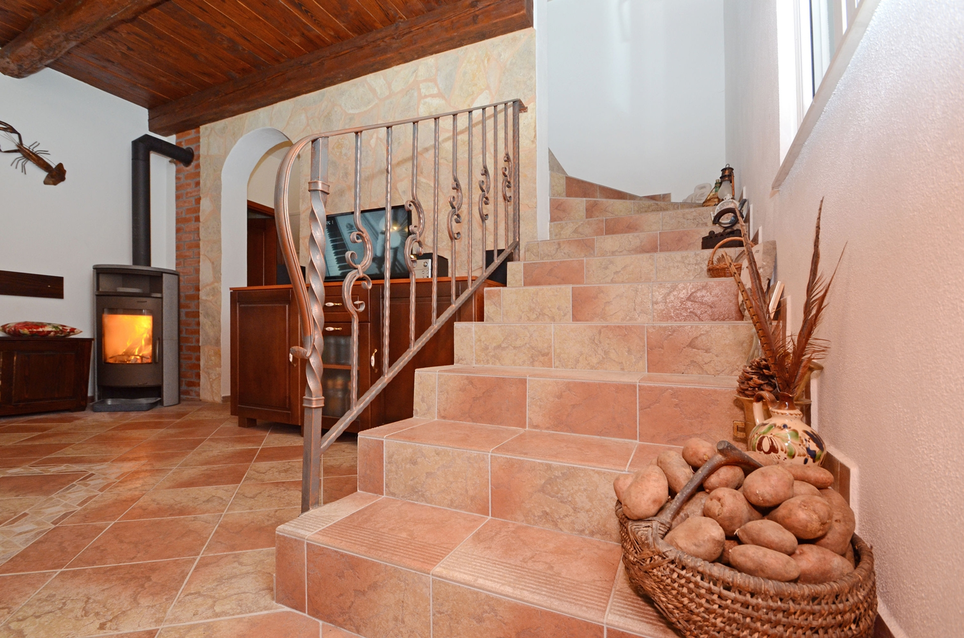 34966 - Prizba - Holiday houses, villas Croatia