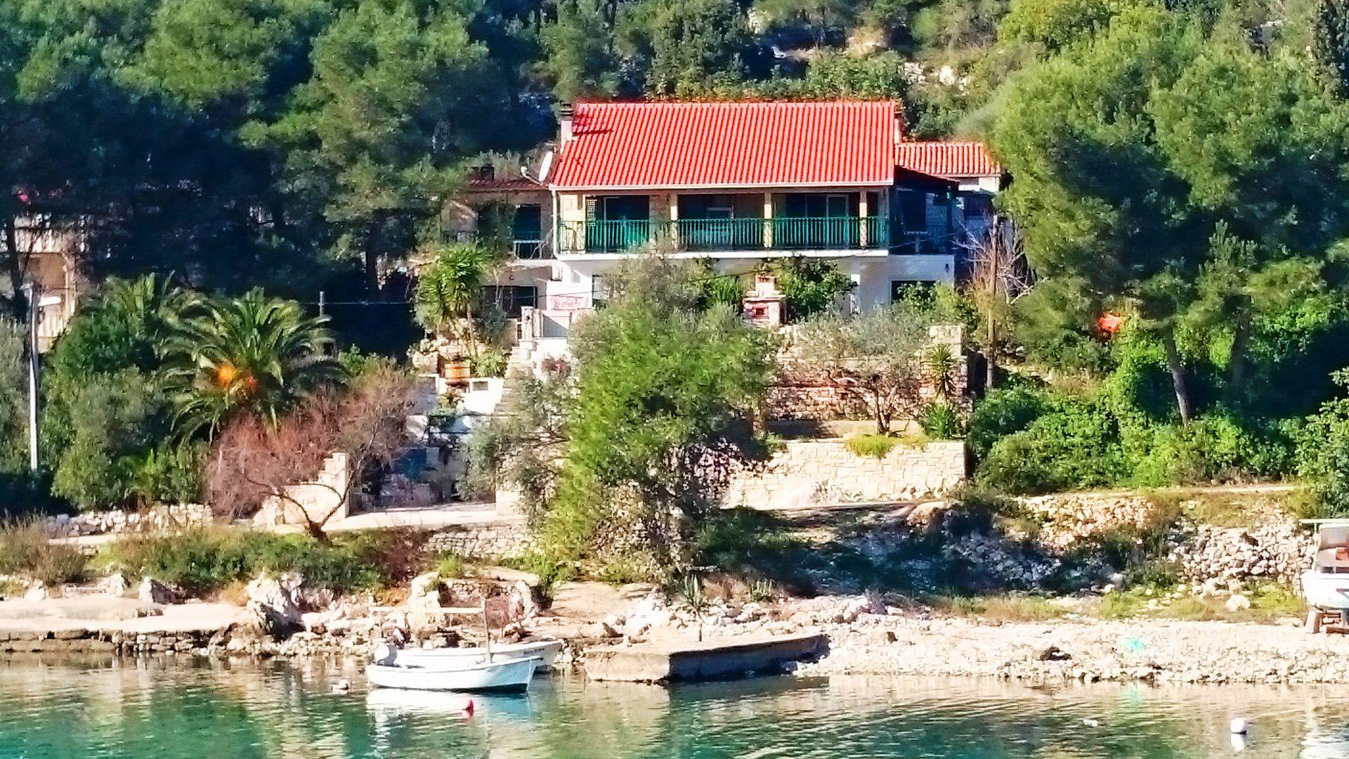 044-04-ROG - Zatoka Banje (Rogac) - Zakwaterowanie nad zatokami Chorwacja