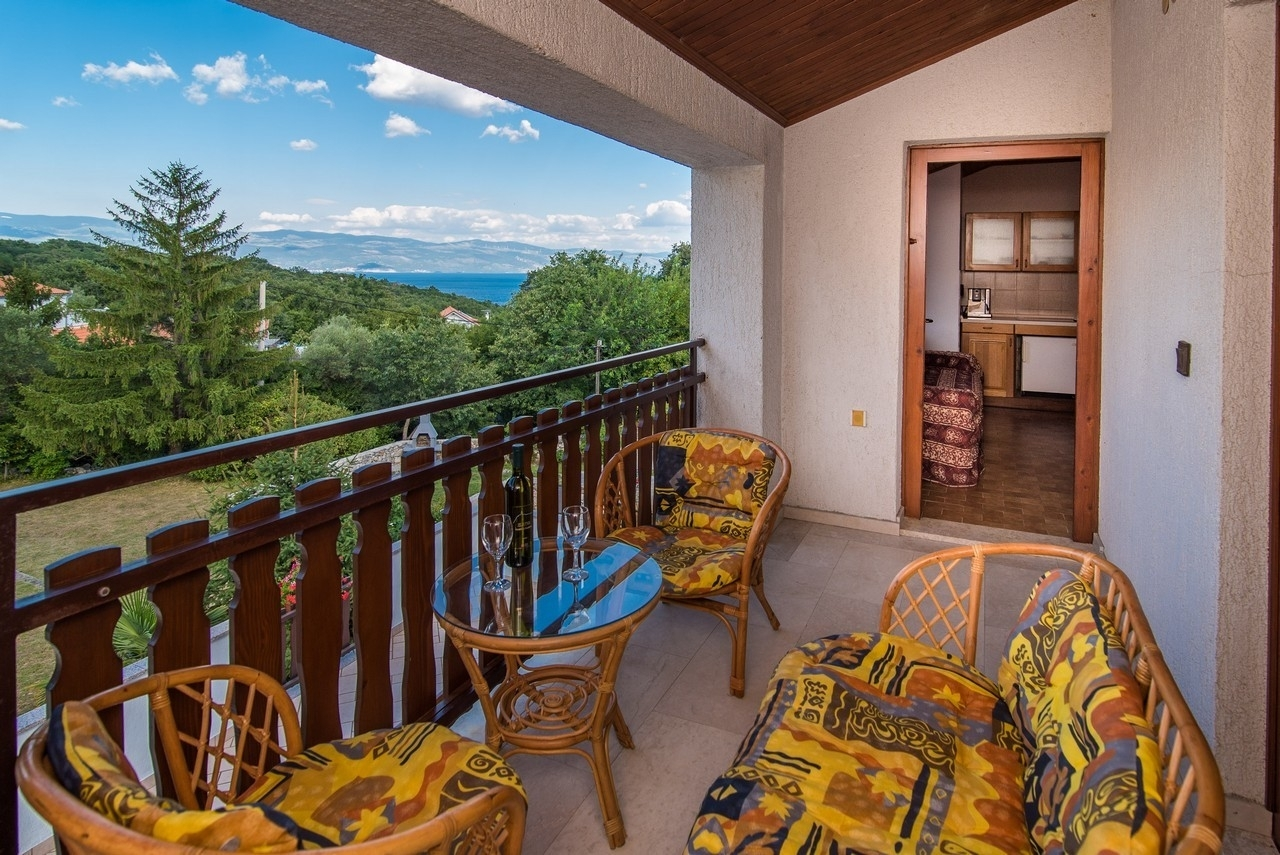 Marica - Vrbnik - Appartementen Kroatië