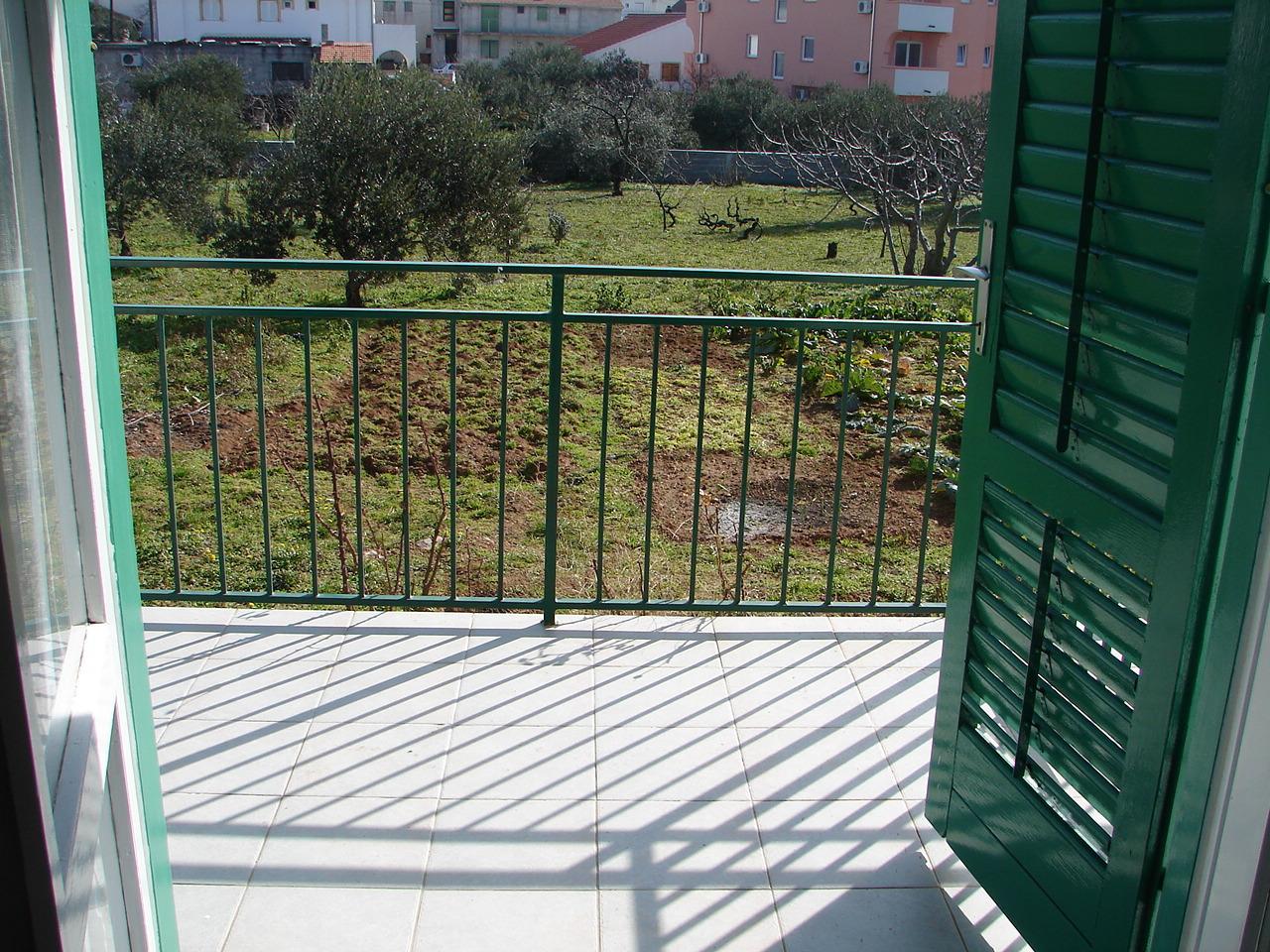 01606VODI - Vodice - Apartmanok Horvátország - A1(4+1): terasz
