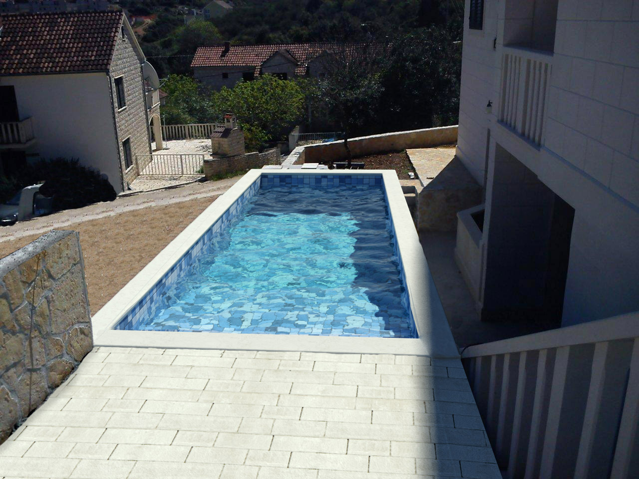 5464  - Sutivan - Maisons de repos, villas Croatie - piscine