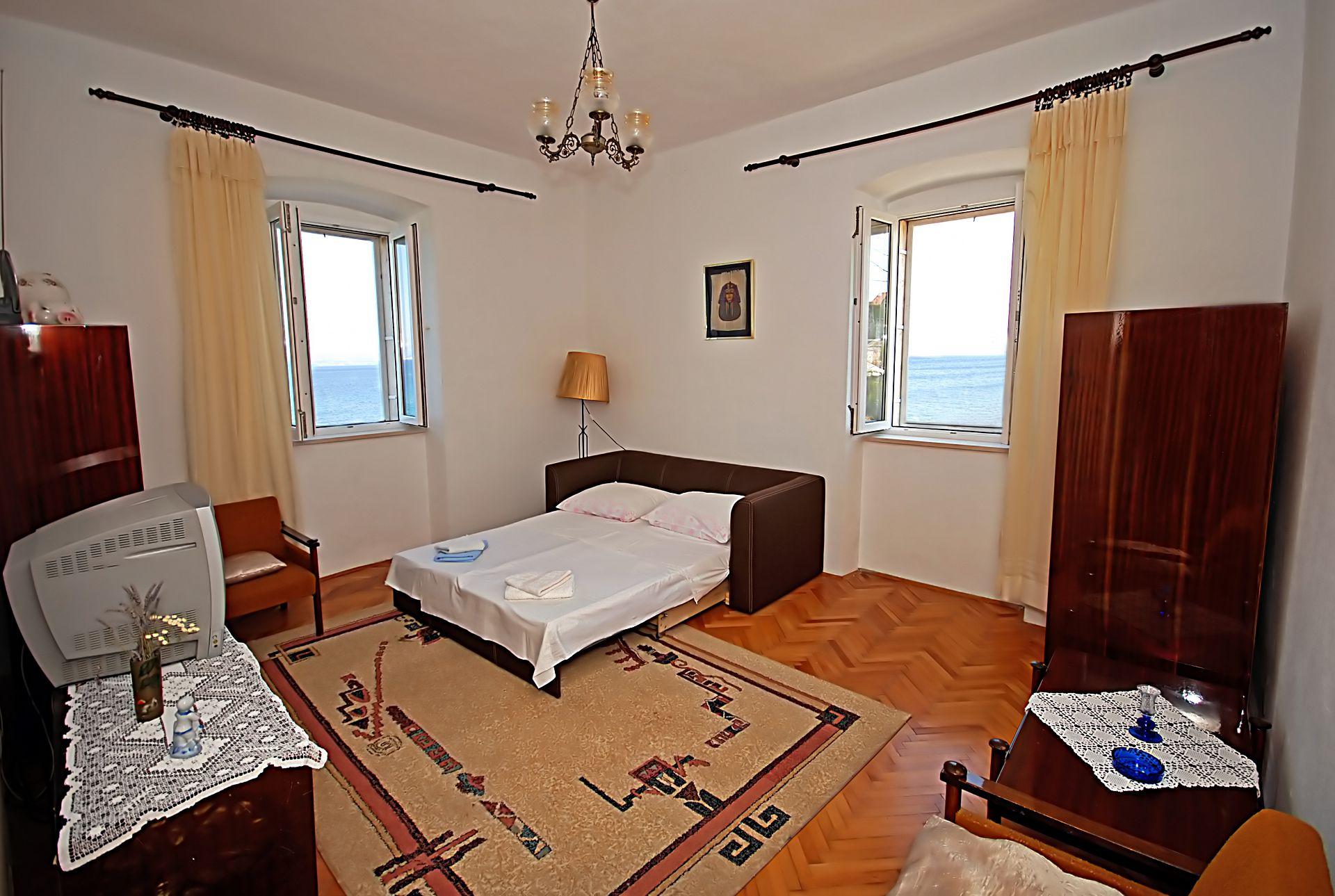 35278  - Sutivan - Appartements Croatie - A1(4+2): séjour