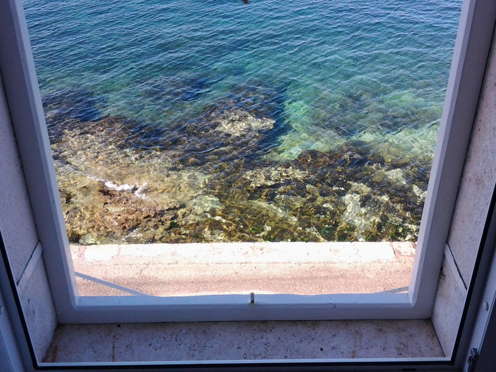 35278  - Sutivan - Appartements Croatie - A1(4+2): vue de la fenêtre