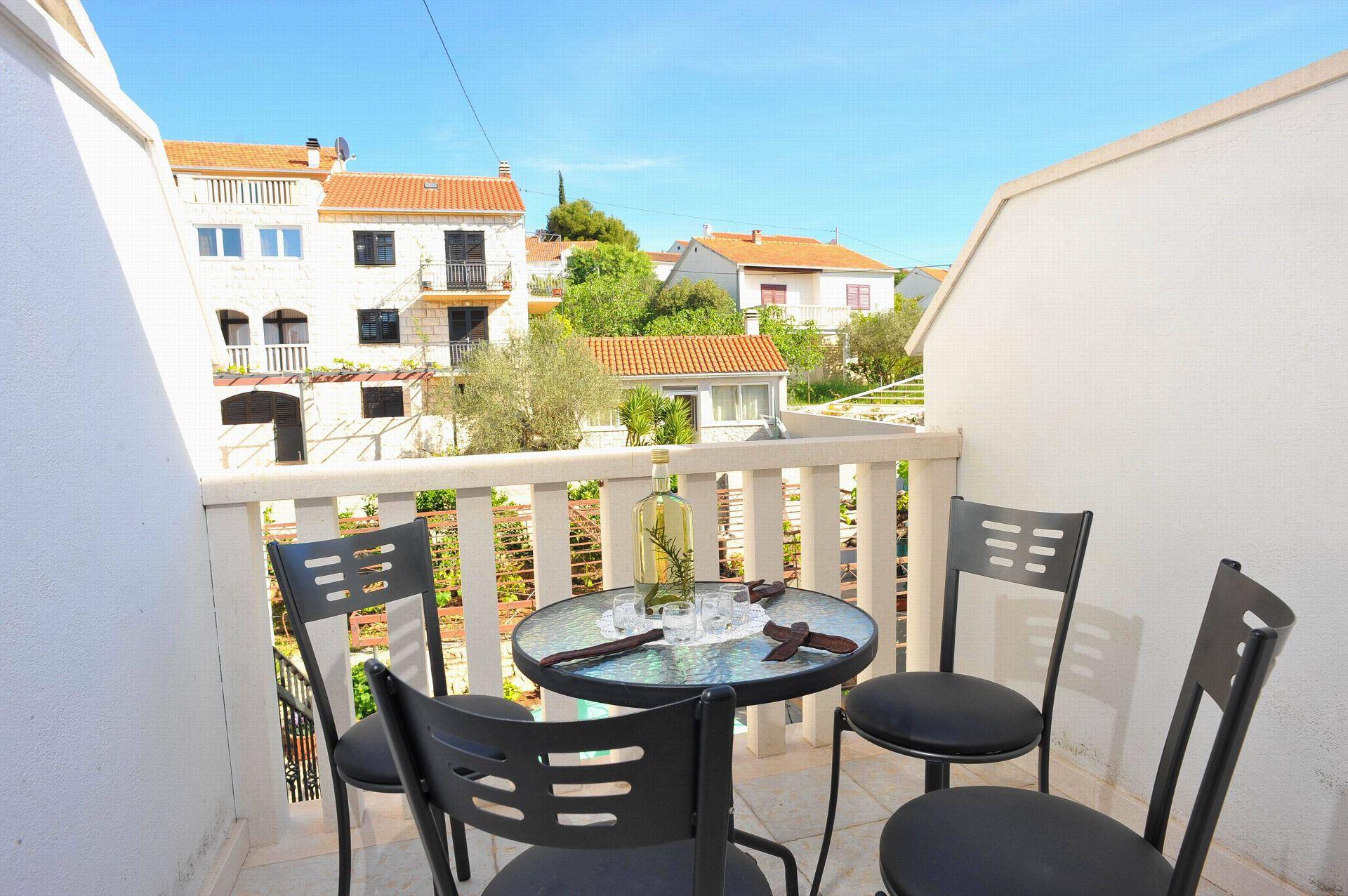 00901SUTI  - Sutivan - Appartements Croatie - A2(2+2): balcon
