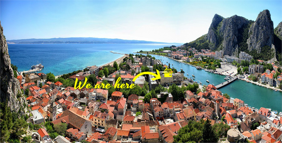 35485 - Omis - Apartments Croatia
