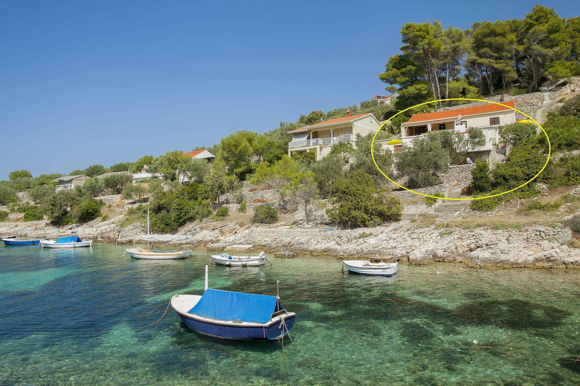 Villa Bistrana - Cove Tankaraca (Vela Luka) - Holiday houses, villas Croatia