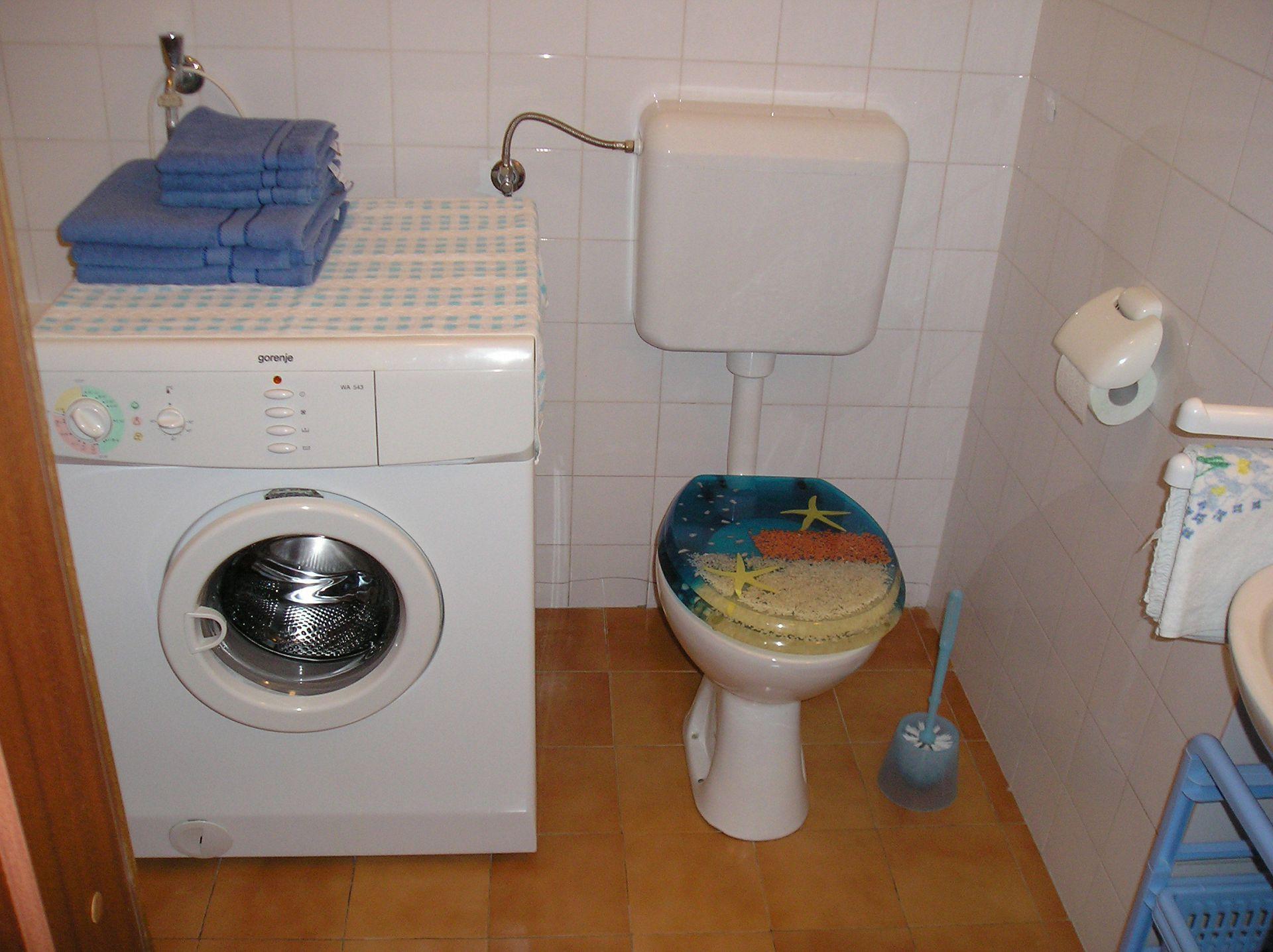 5751 - Lovran - Apartments Croatia - A1(2+2): toilet