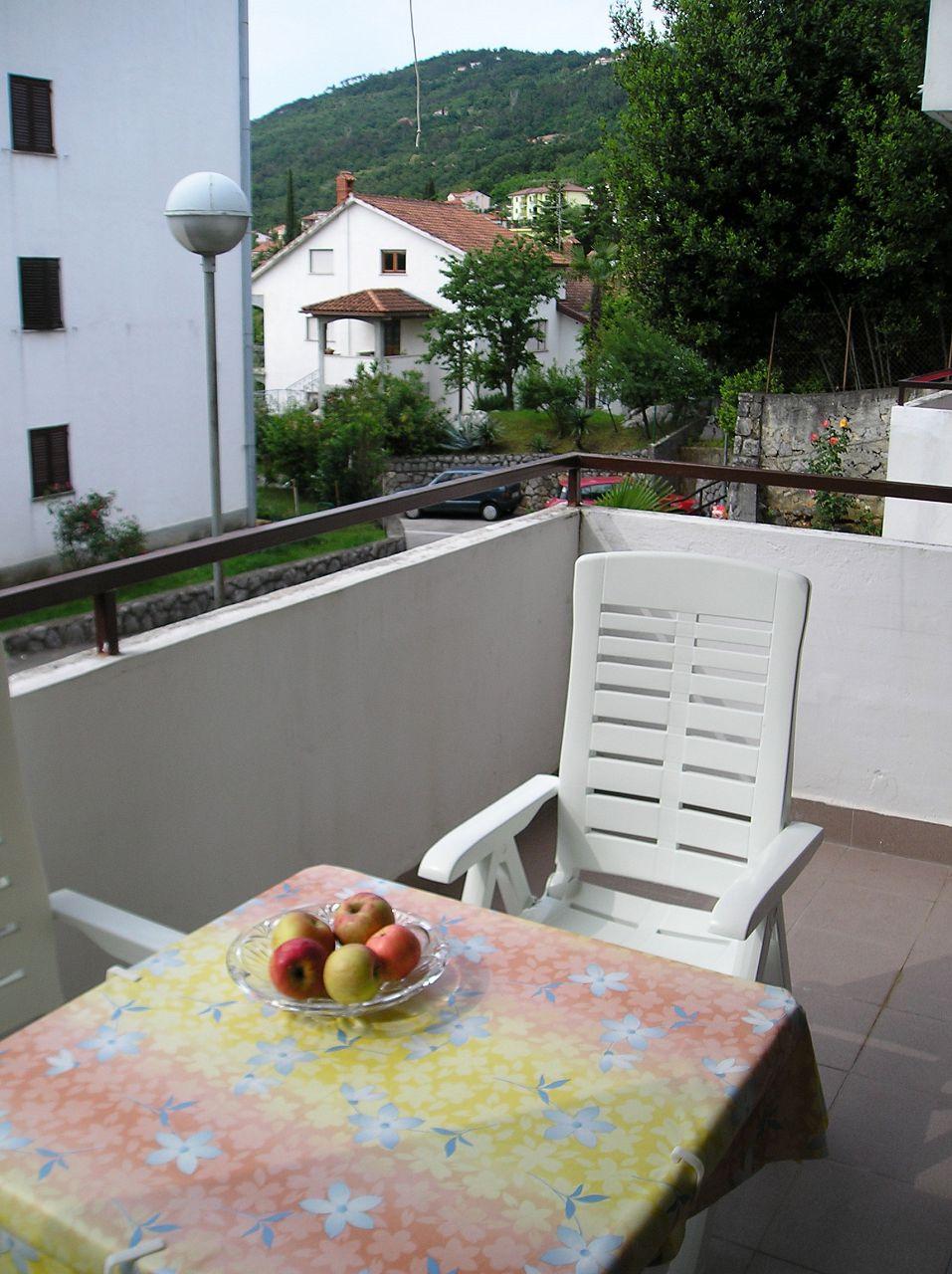 5751 - Lovran - Apartments Croatia - A1(2+2): terrace