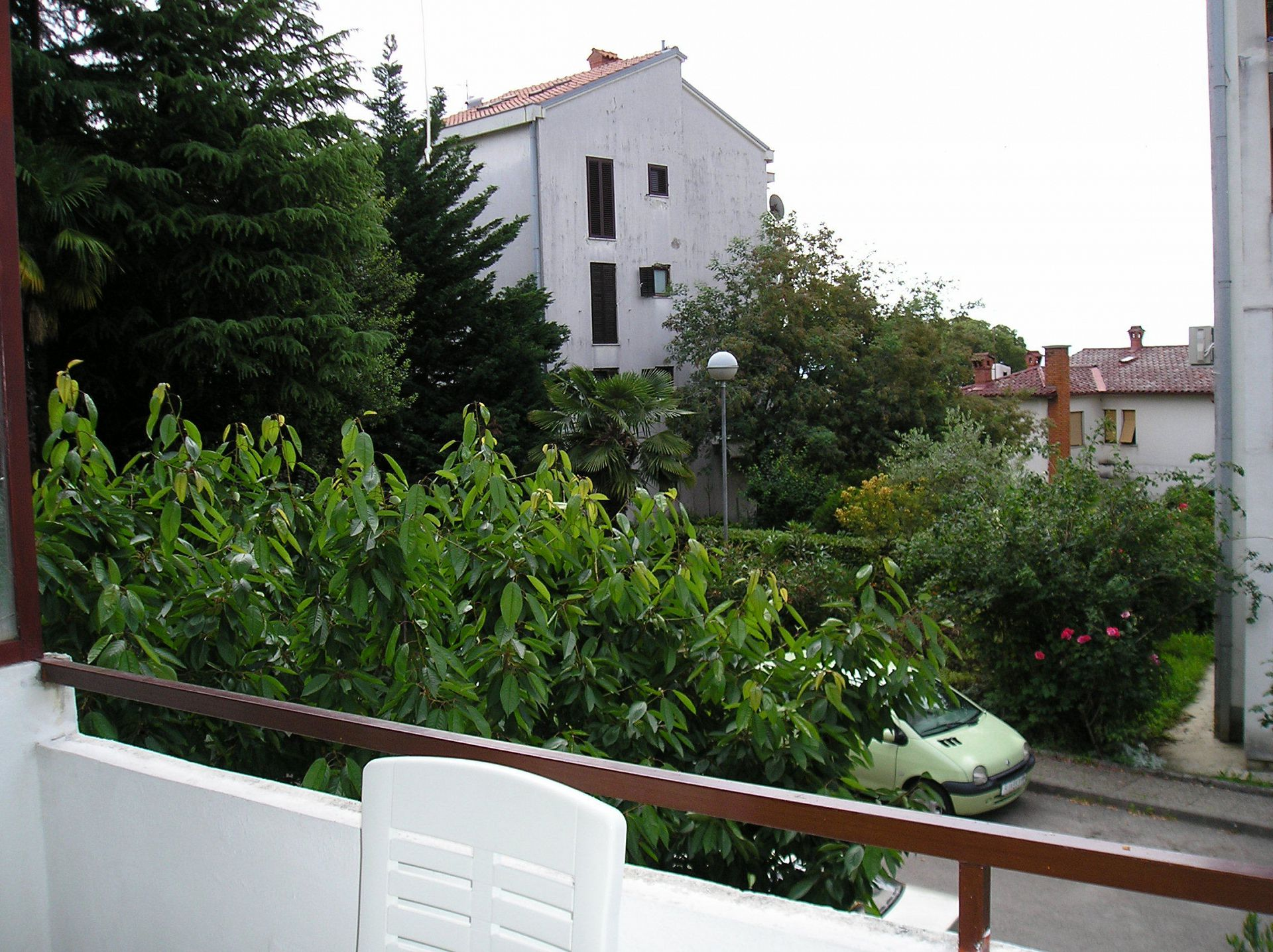5751 - Lovran - Apartments Croatia - A1(2+2): terrace view