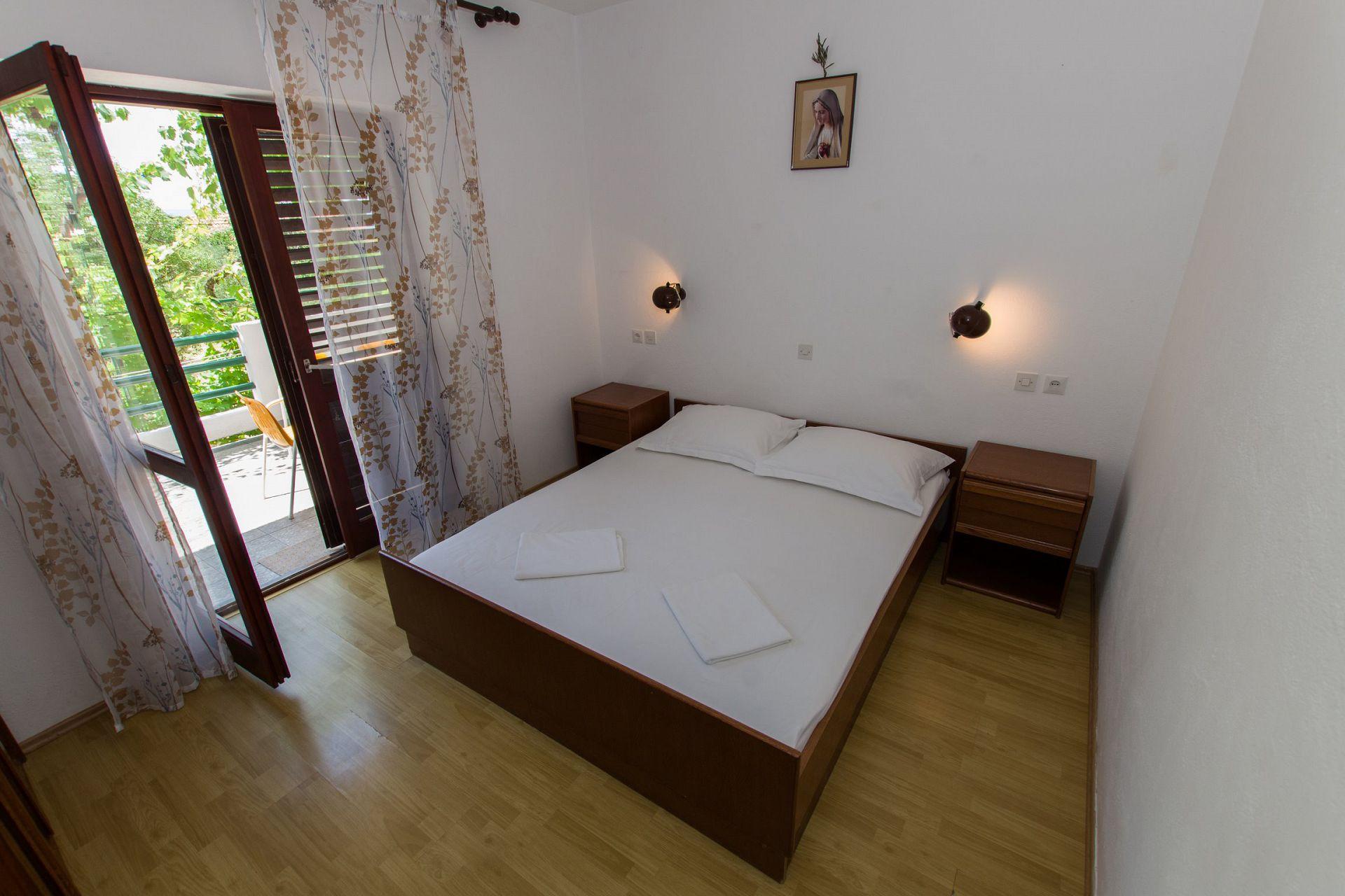 Zeli - Brela - Appartementen Kroatië - A1(4+4): slaapkamer