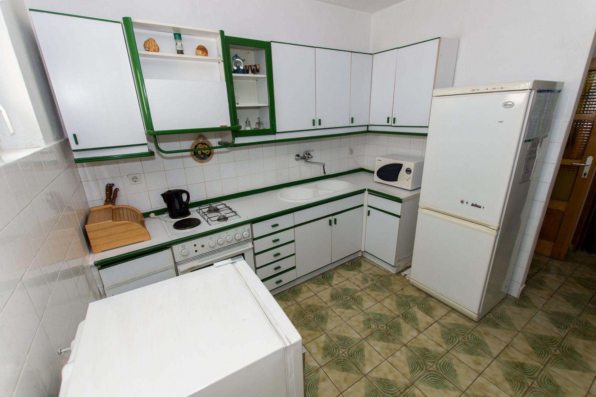 Zeli - Brela - Appartementen Kroatië - A1(4+4): keuken