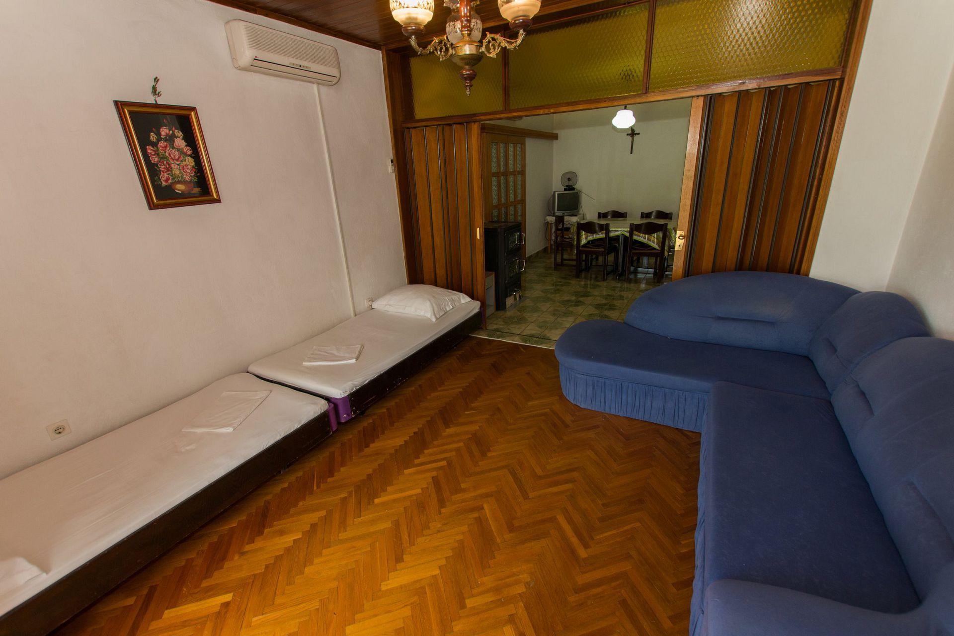 Zeli - Brela - Appartementen Kroatië - A1(4+4): woonkamer