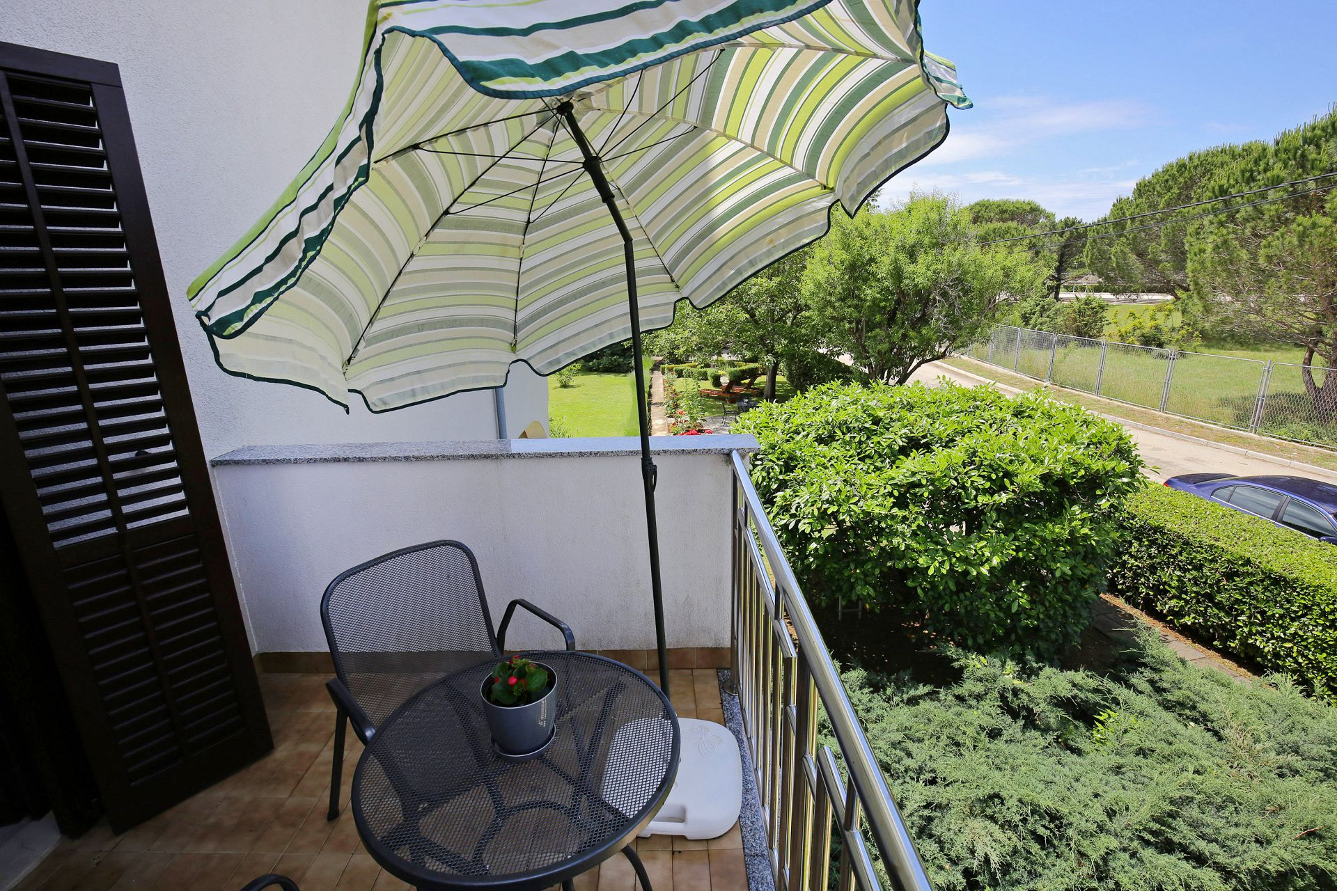00418ZATZ - Zaton (Zadar) - Apartments Croatia - SA1(2): terrace