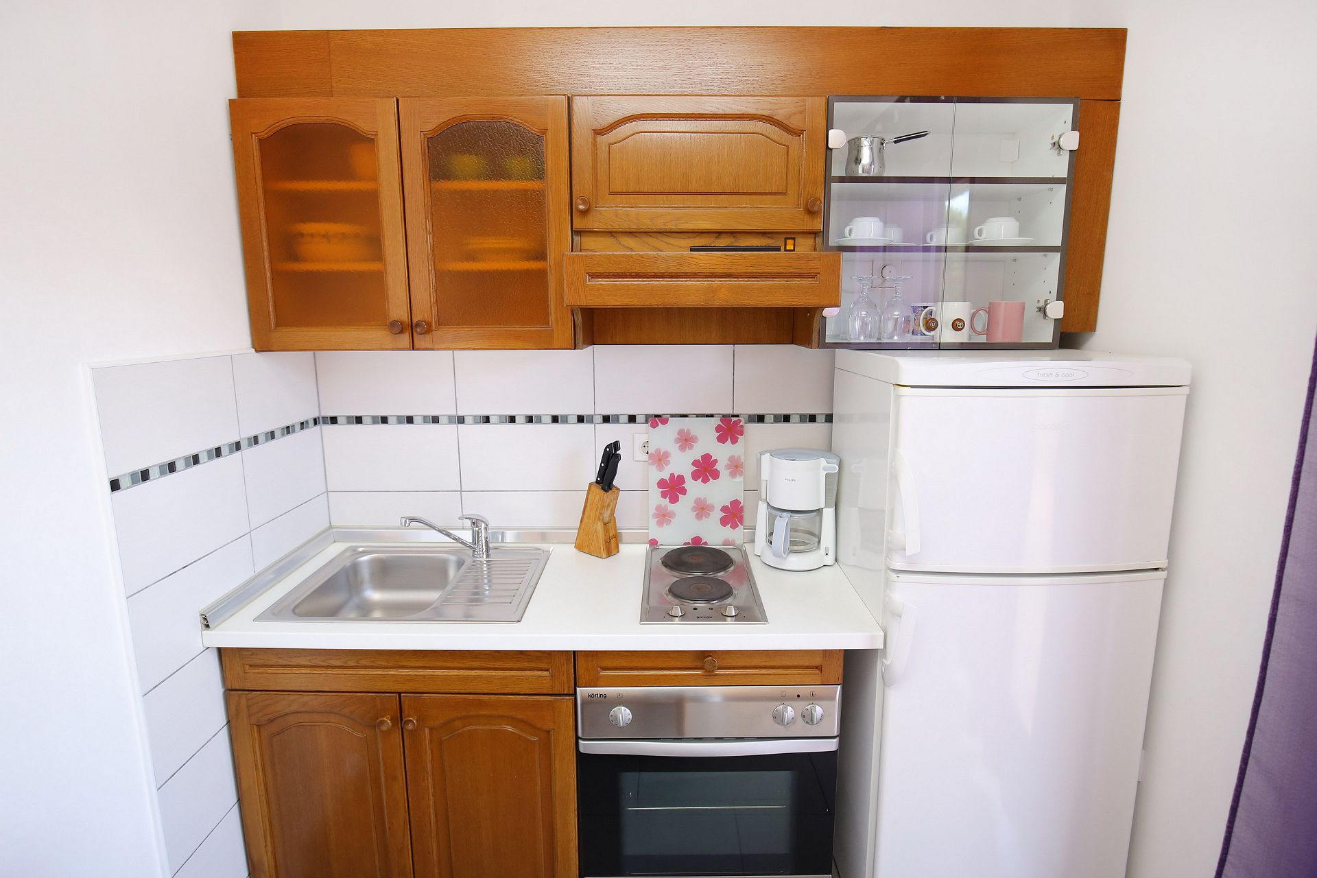 00418ZATZ - Zaton (Zadar) - Apartments Croatia - A2(2+2): kitchen