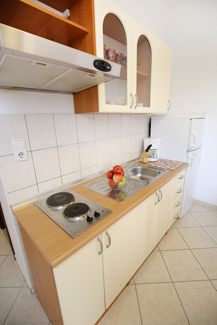 00418ZATZ - Zaton (Zadar) - Apartments Croatia - A2P(2+2): kitchen