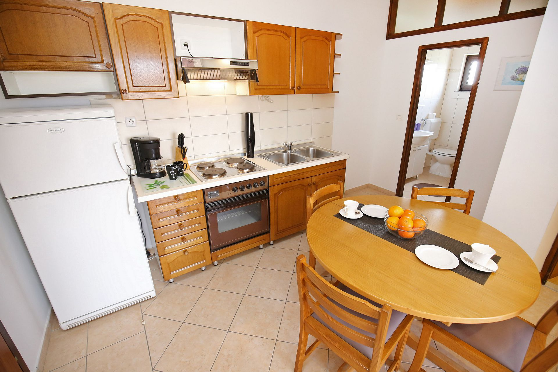 00418ZATZ - Zaton (Zadar) - Apartments Croatia - A3P(2+2): kitchen and dining room