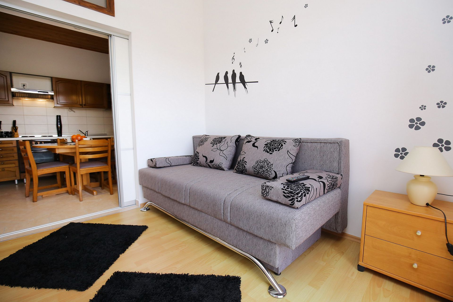 00418ZATZ - Zaton (Zadar) - Apartments Croatia - A3P(2+2): living room