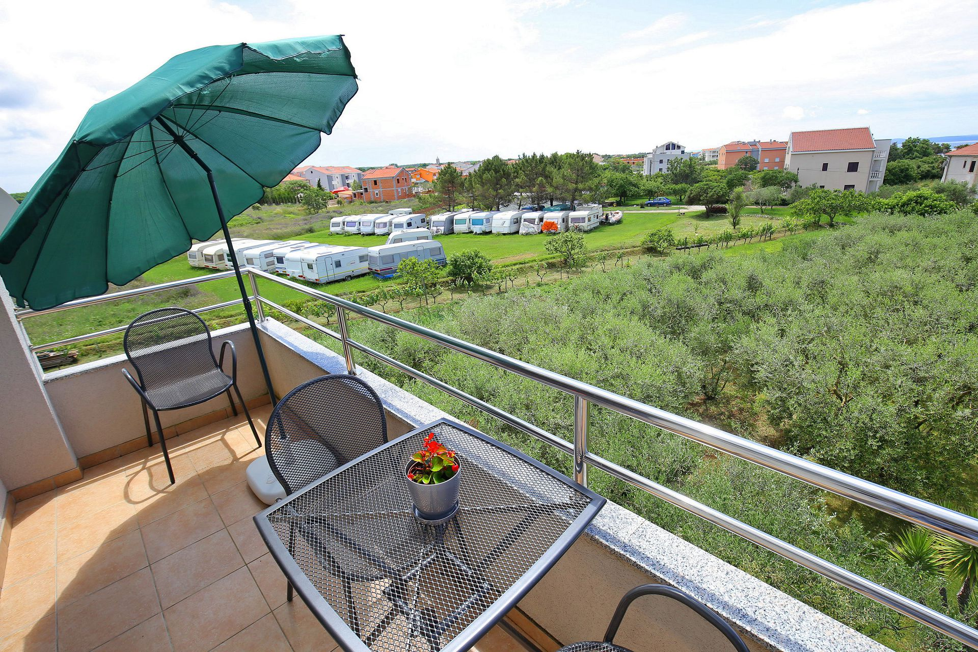 00418ZATZ - Zaton (Zadar) - Apartments Croatia - A3P(2+2): terrace