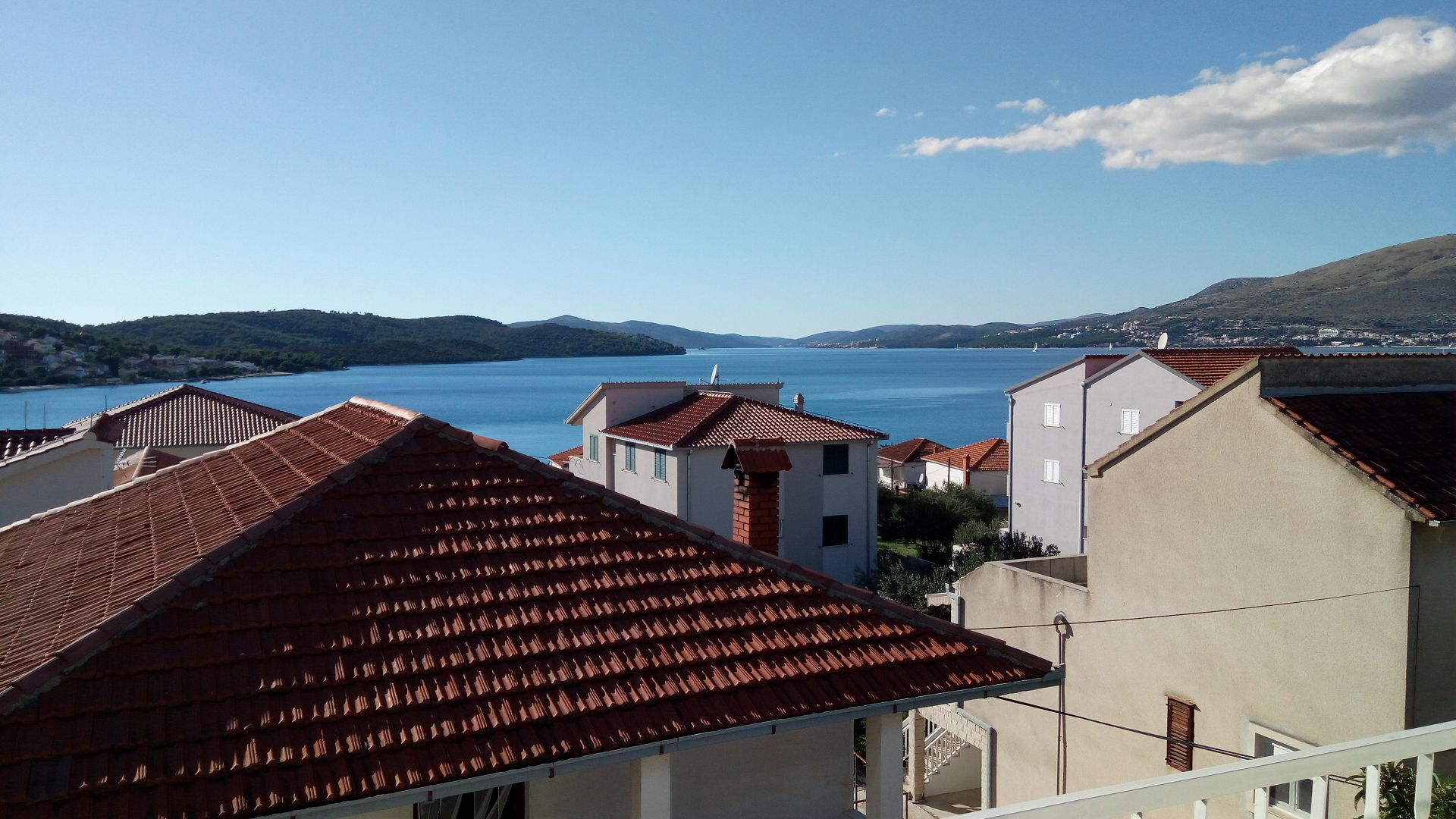Marijica - Okrug Gornji - Ferienwohnungen Kroatien - A2(6): Aussicht