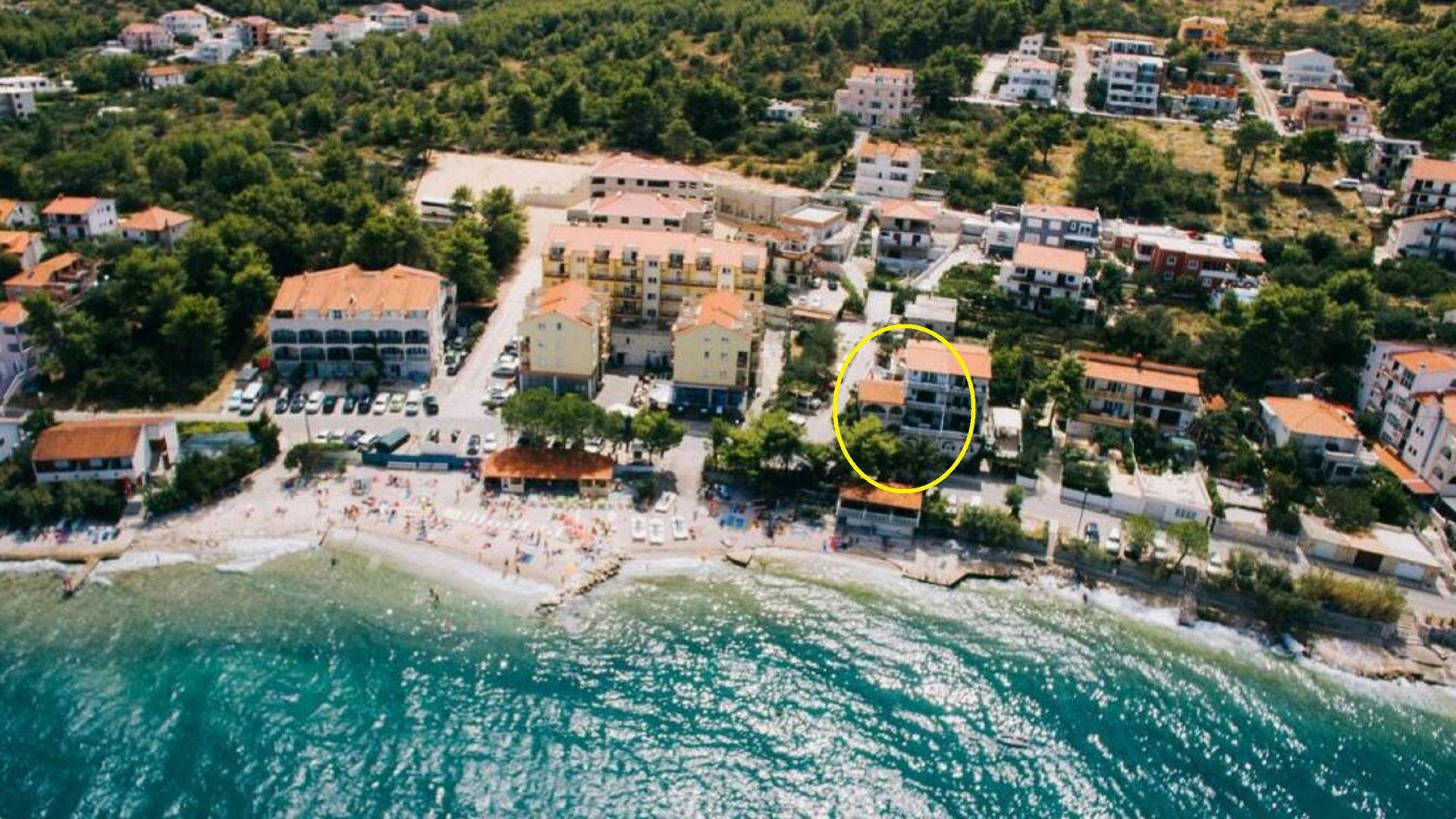 David - Arbanija - Appartementen Kroatië