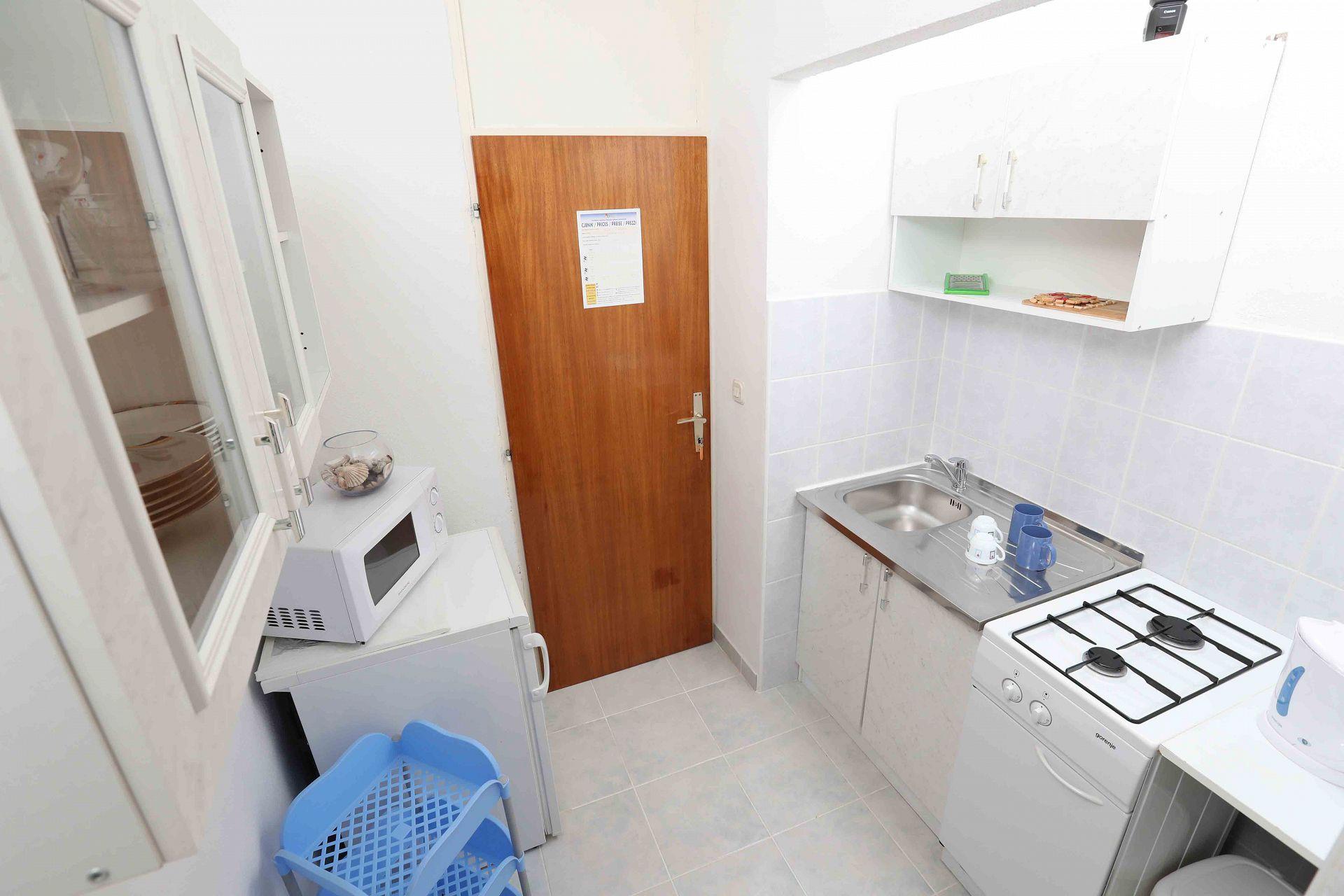 00603ZAVA - Zavala - Appartementen Kroatië - Ante(2): keuken