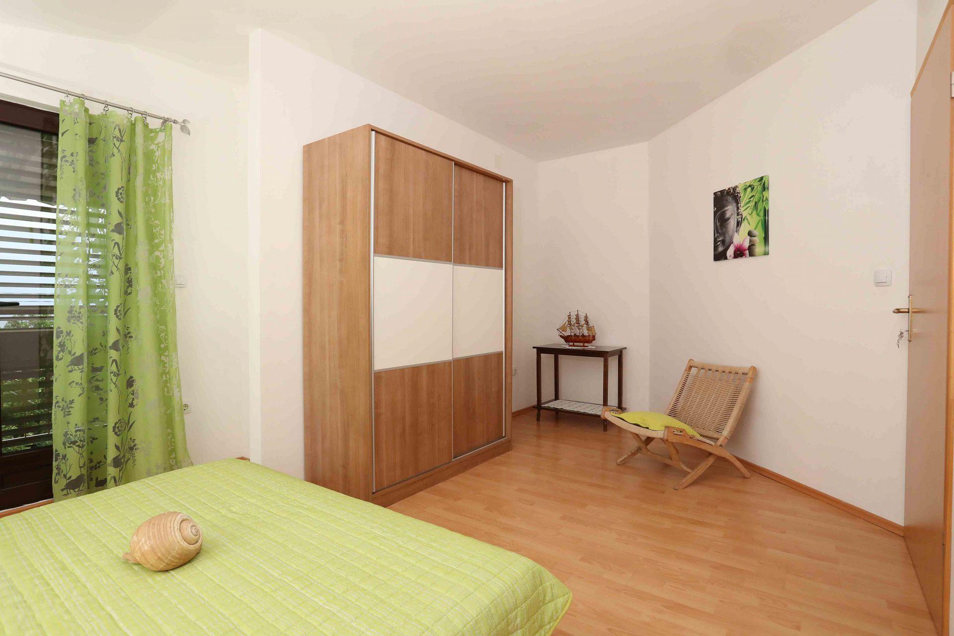00603ZAVA - Zavala - Appartementen Kroatië - Mario(4+1): slaapkamer