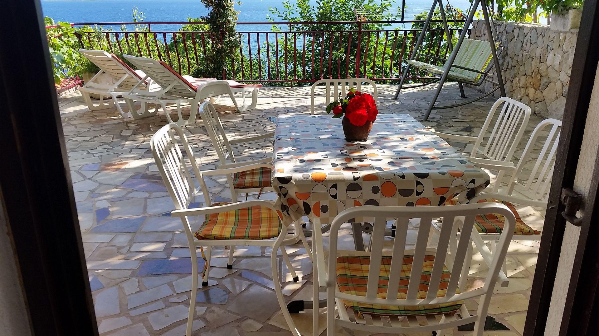 00209PISA  - Pisak - Ferienwohnungen Kroatien - A3 Prizemlje (2+2): Terasse