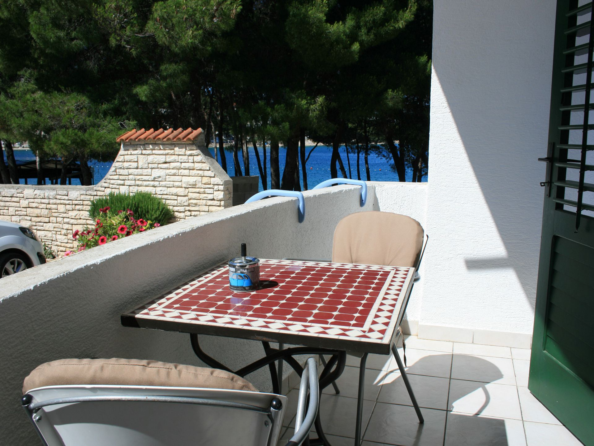 37656 - Jezera - Apartments Croatia - A-Laura(2+2): terrace