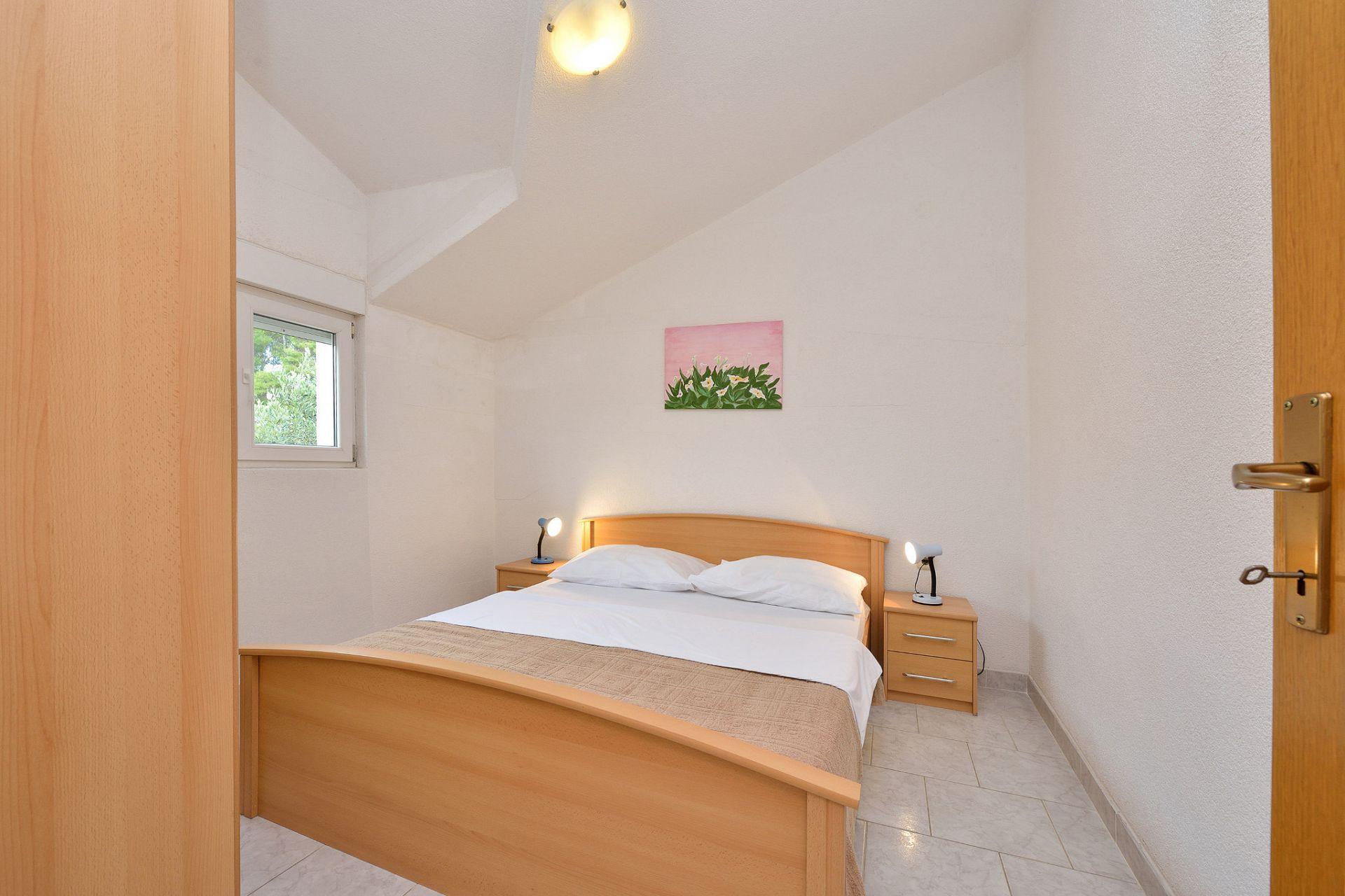 1675 - Drage - Apartmanok Horvátország - A3(2+2): hálószoba