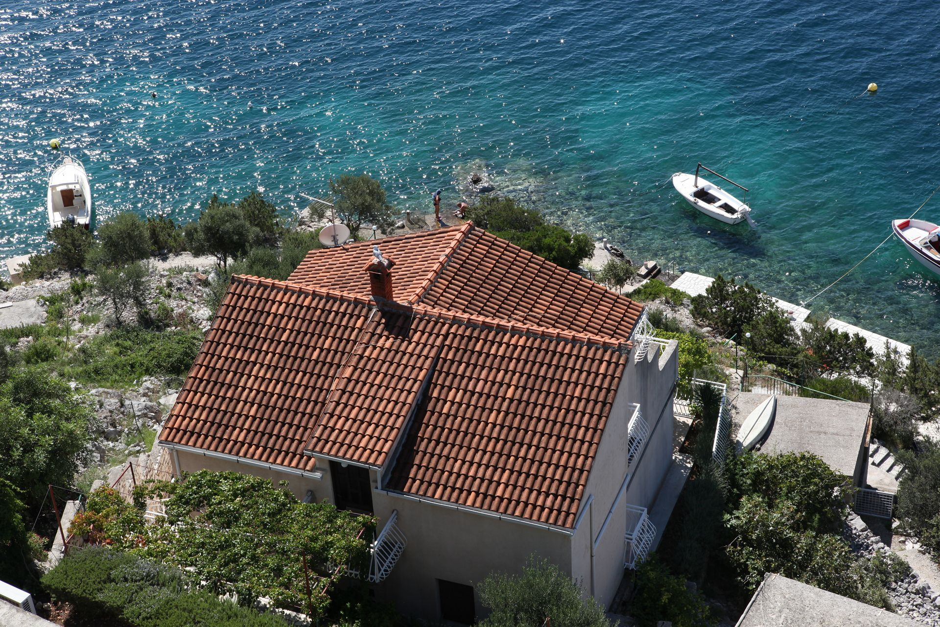 Mare - Cove Ljubljeva (Vinisce) - Accommodation in coves Croatia