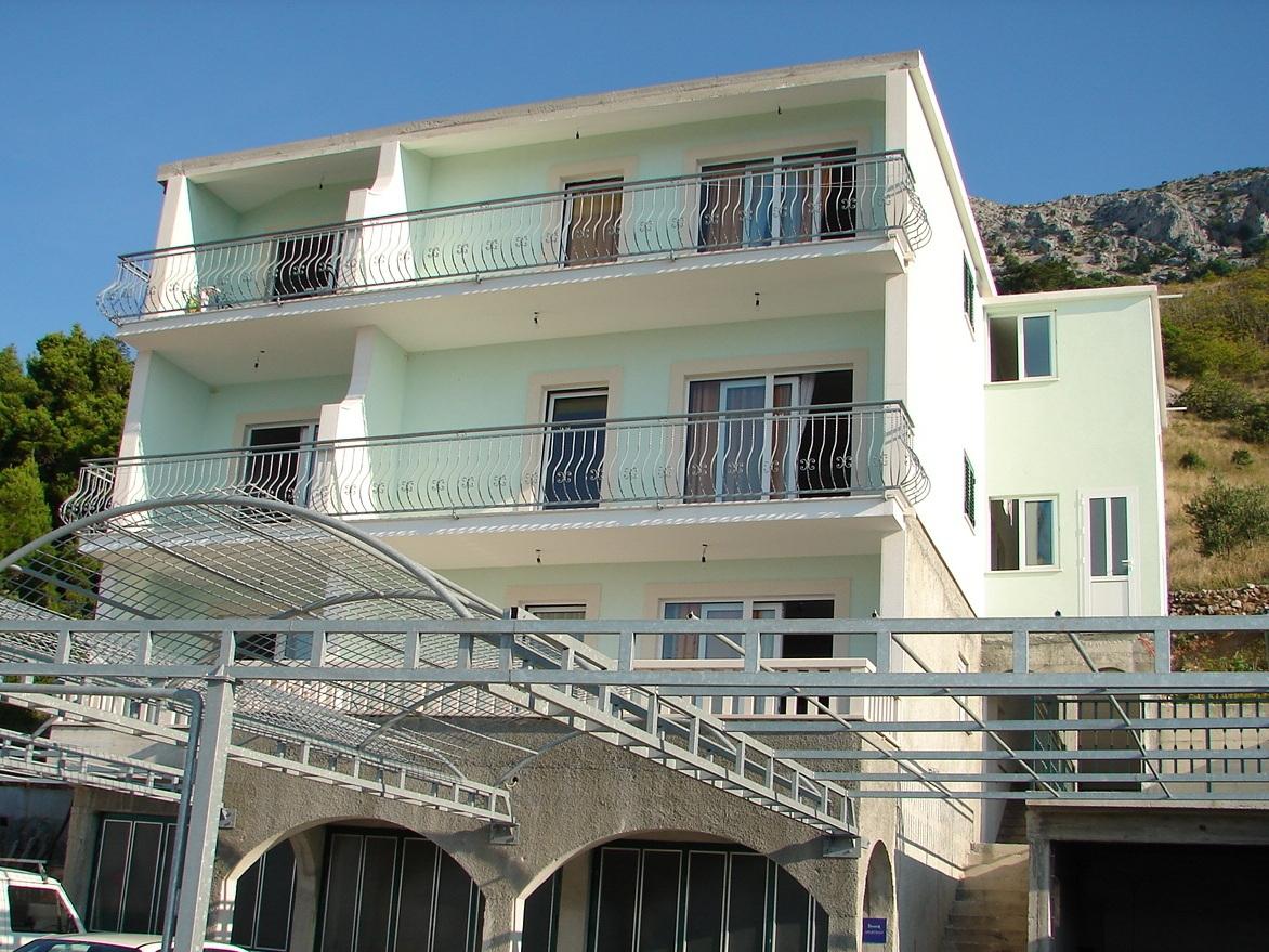 02713BREL  - Brela - Appartementen Kroatië