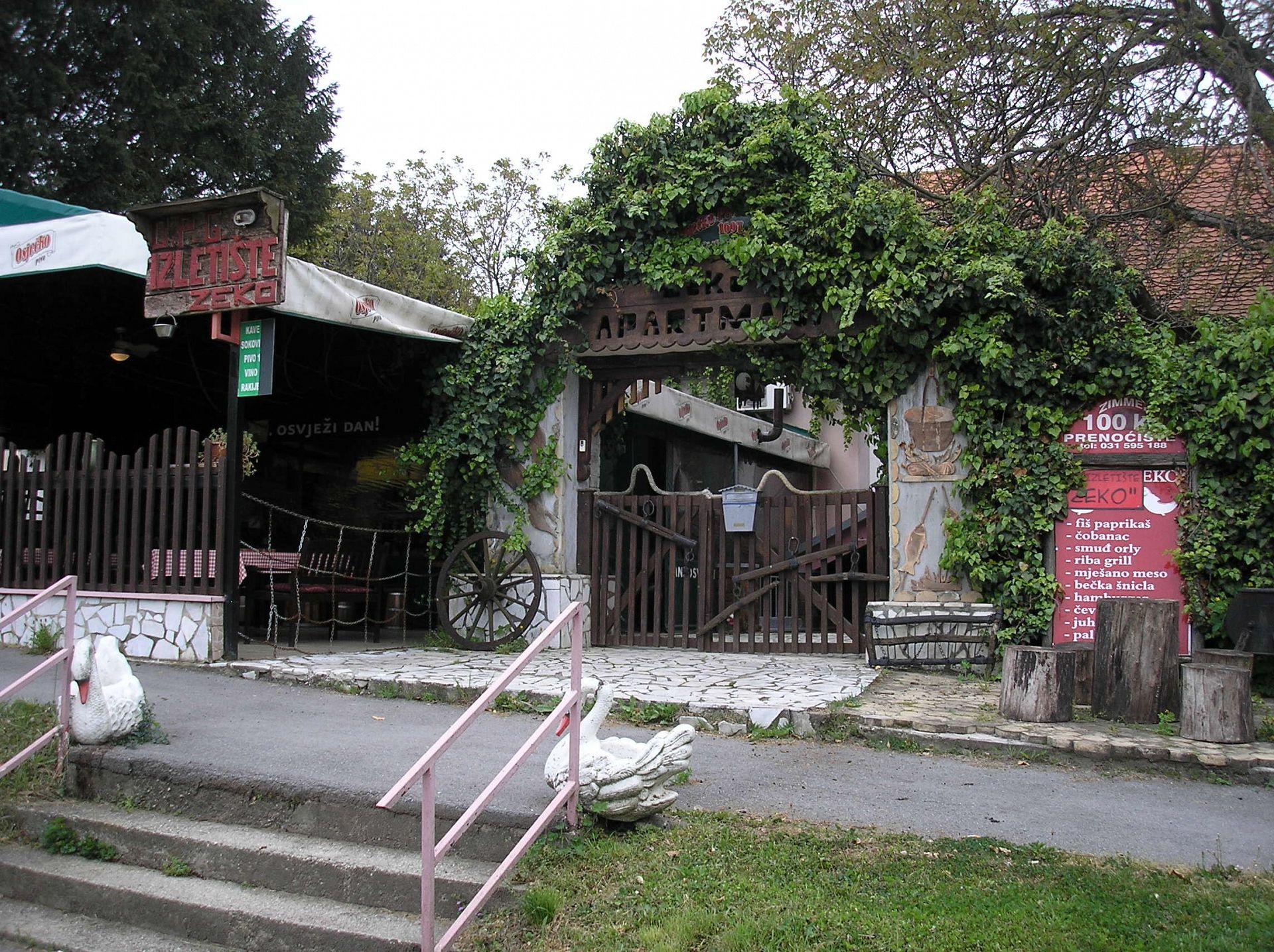 Zvonkic - Aljmas - Ferienwohnungen Kroatien - Haus