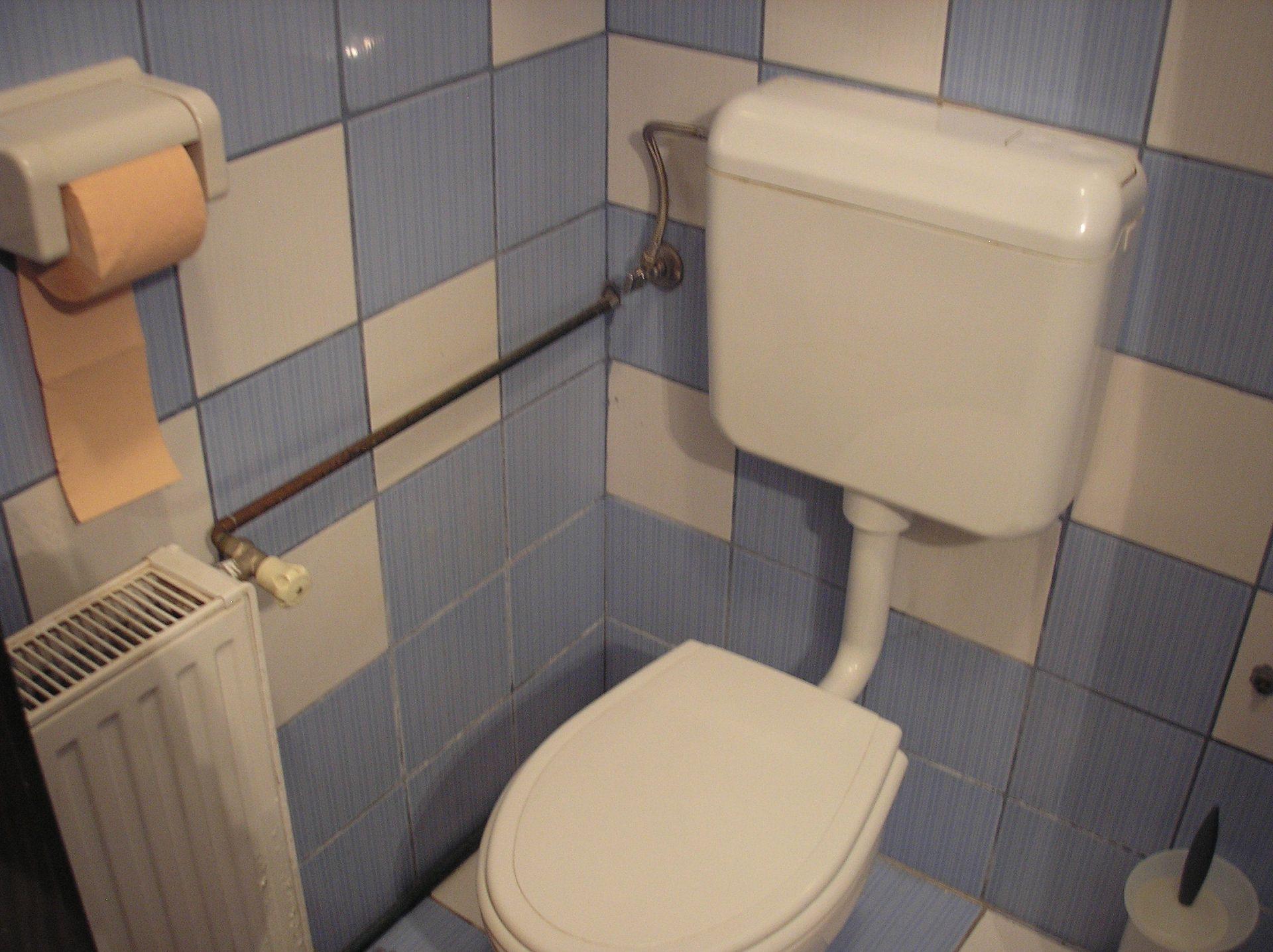 Zvonkic - Aljmas - Ferienwohnungen Kroatien - A(4): Badezimmer mit Toilette