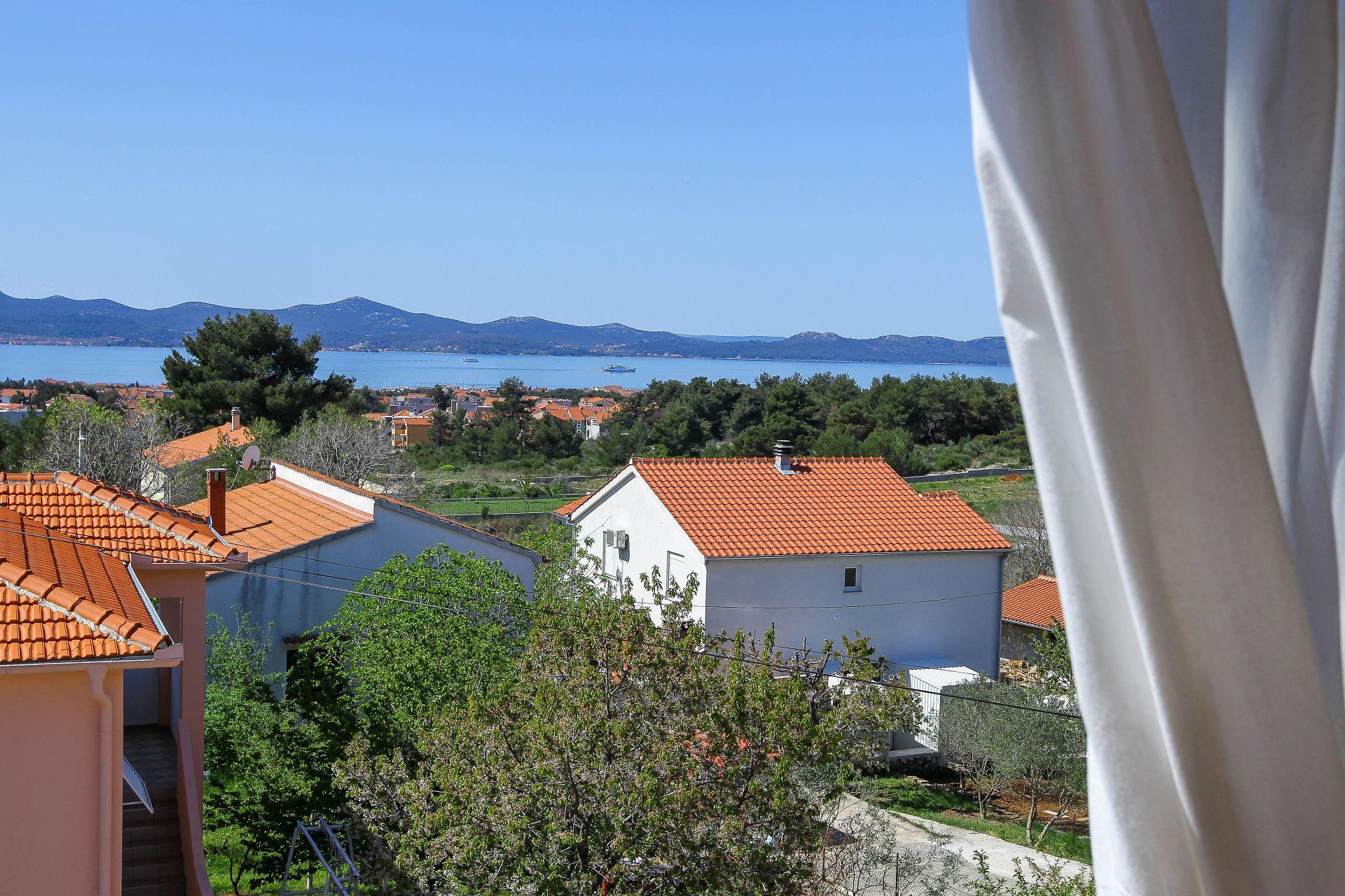 Suza - Zadar - Appartementen Kroatië - uitzicht op zee
