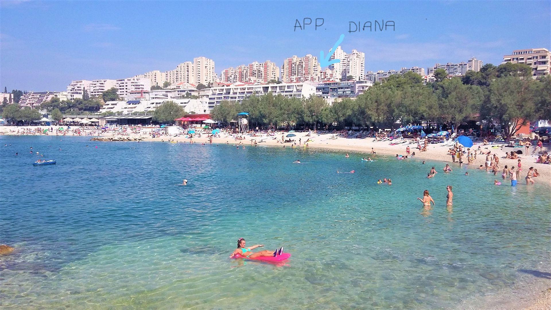 Diana - Split - Appartementen Kroatië