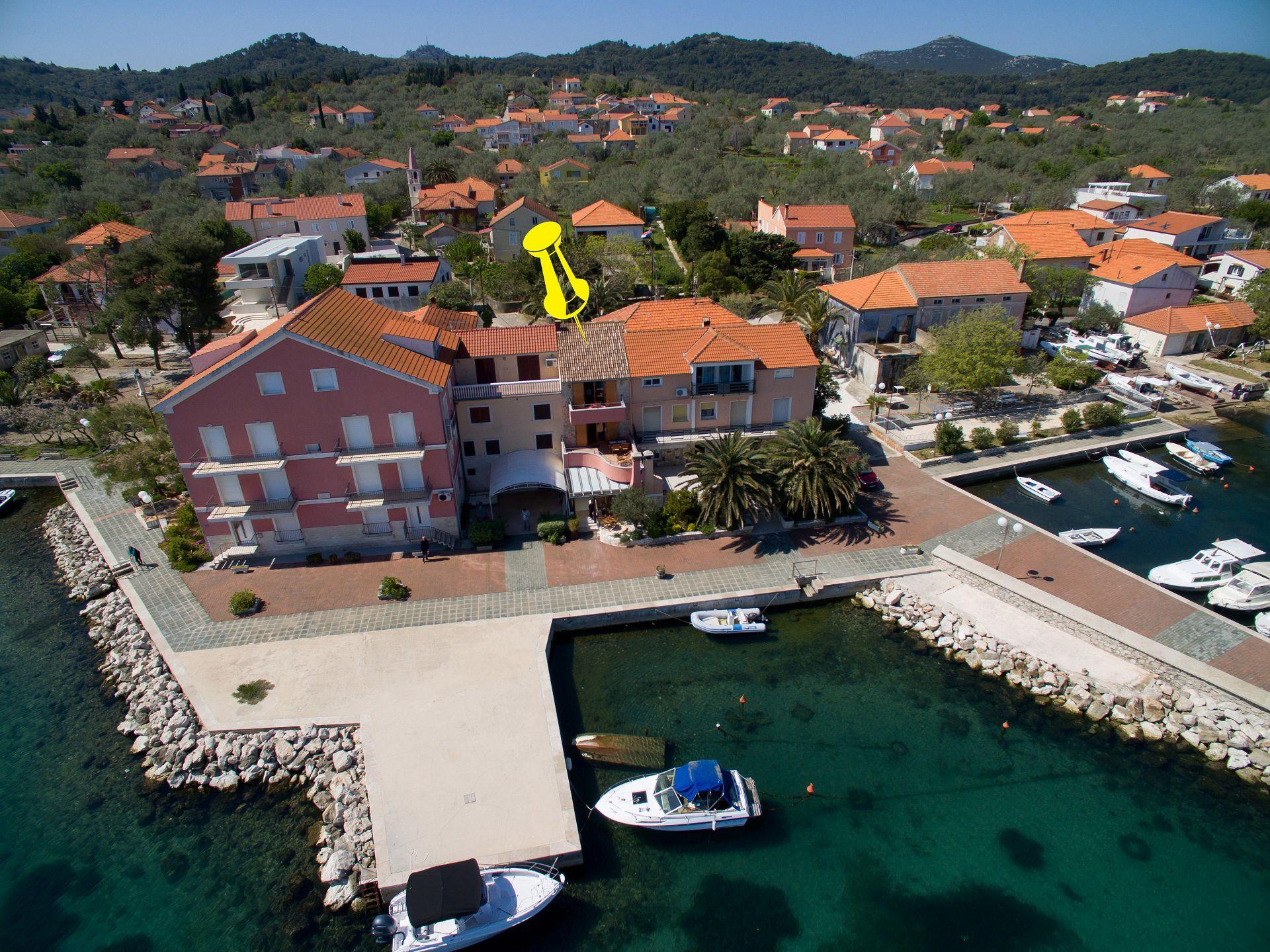 2609 - Poljana - Appartementen Kroatië
