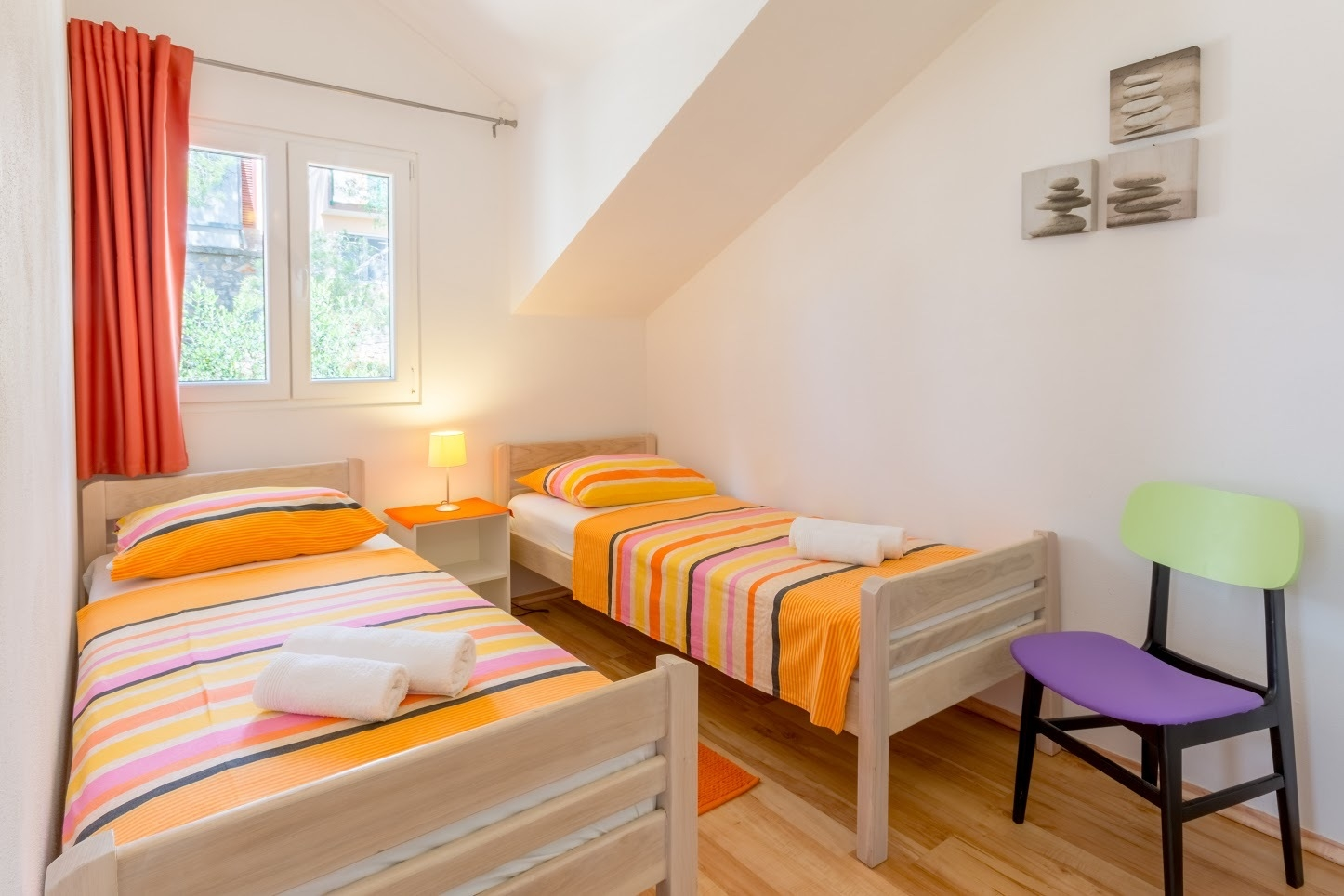 Simi - Baai Osibova (Milna) - Verblijf in lagunes Kroatië - A1(4+1): slaapkamer